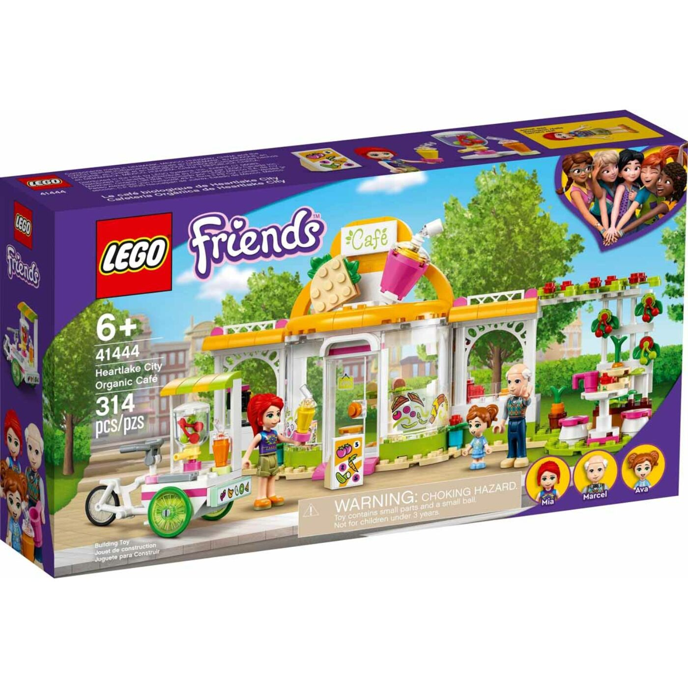 Lego Friends Hertlake City Bio Café