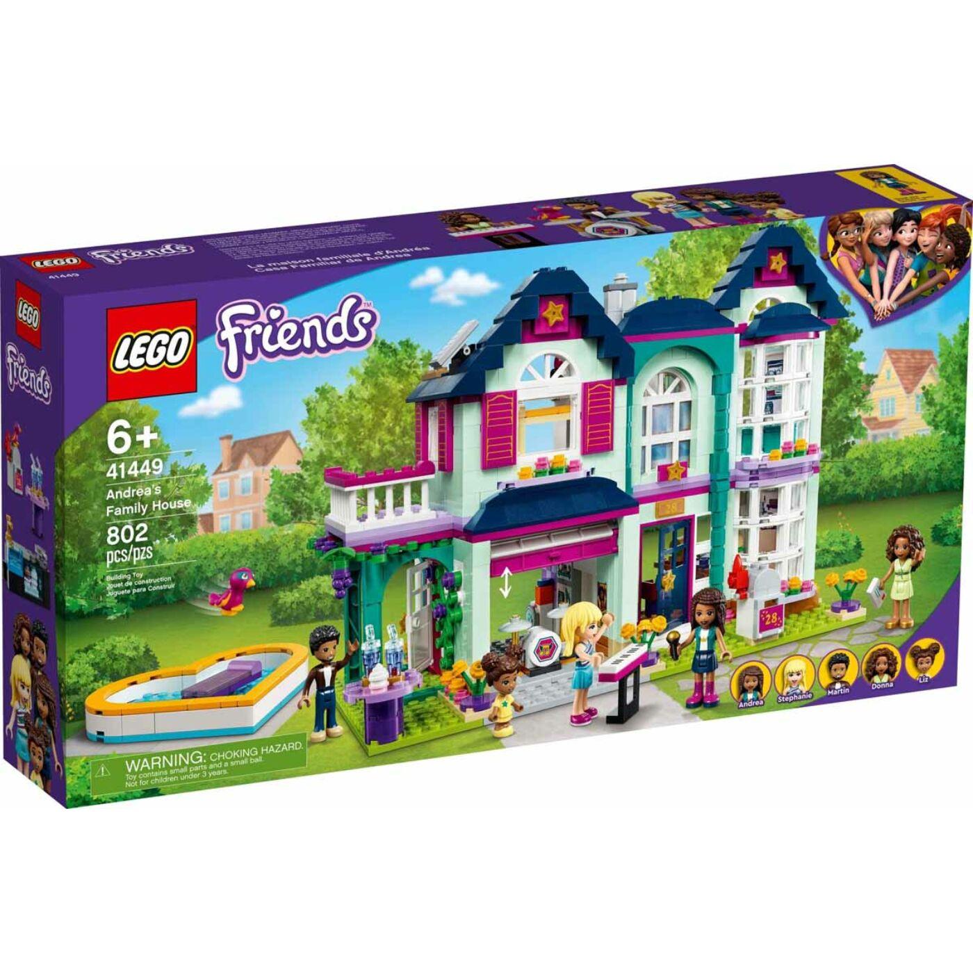 Lego Friends Andrea családi háza