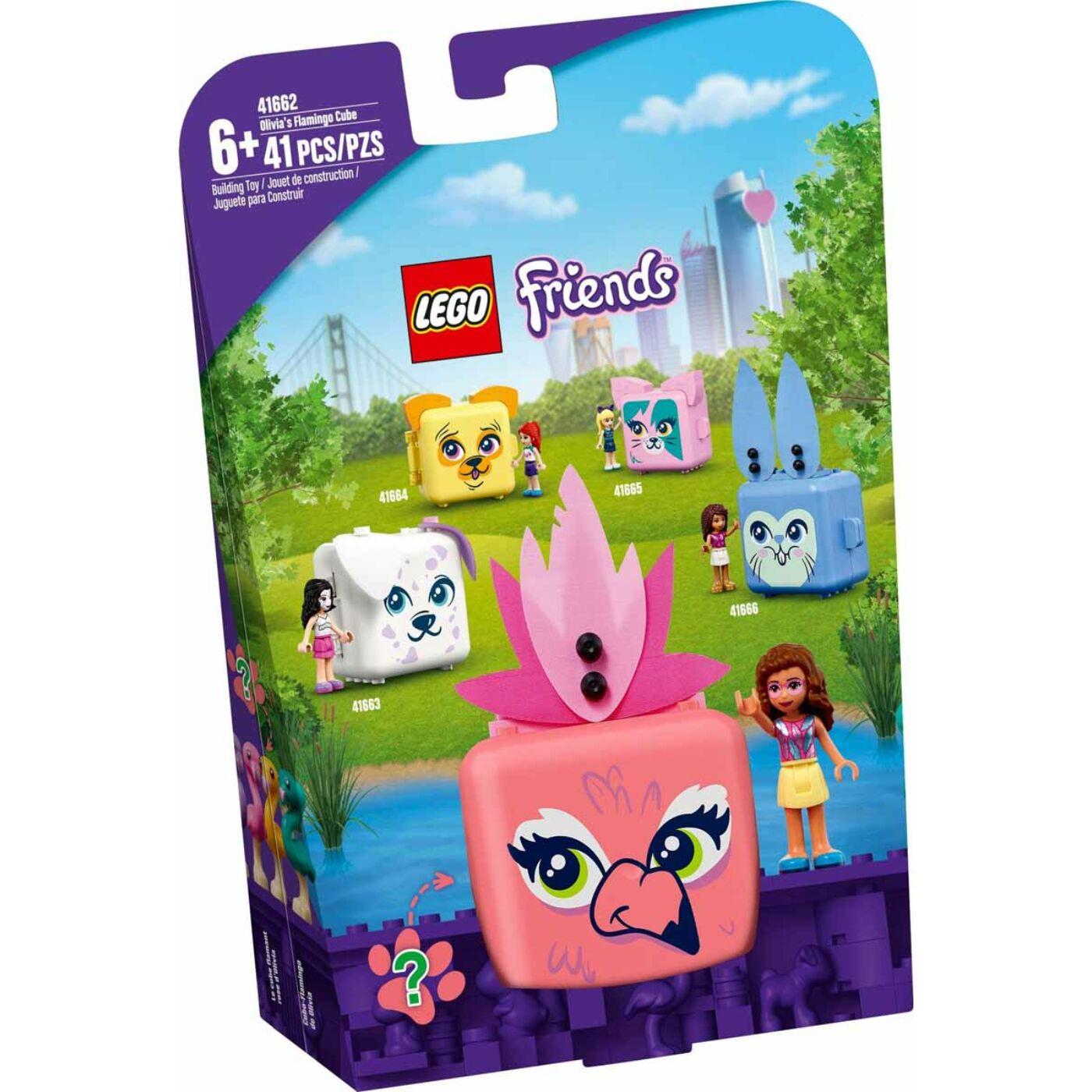 Lego Friends Olivia flamingós dobozkája