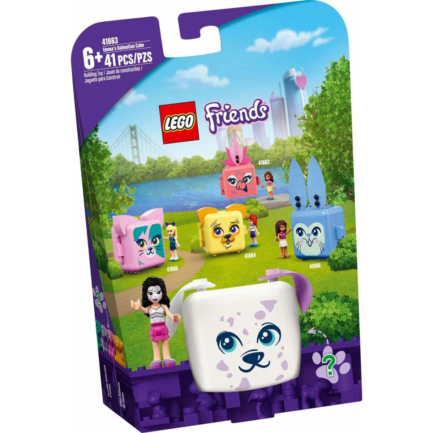Lego Friends Emma dalmatás dobozkája