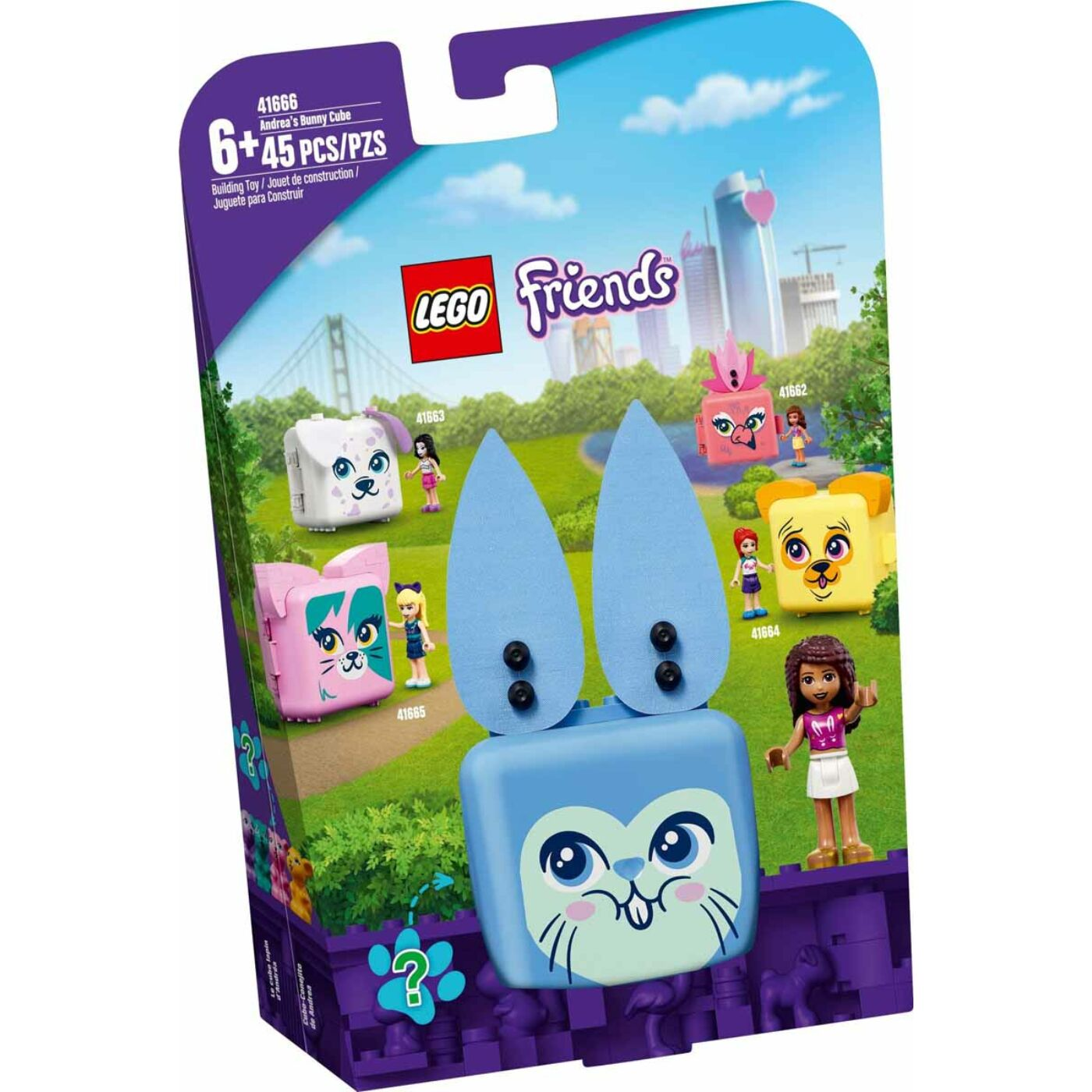Lego Friends Andrea nyuszis dobozkája