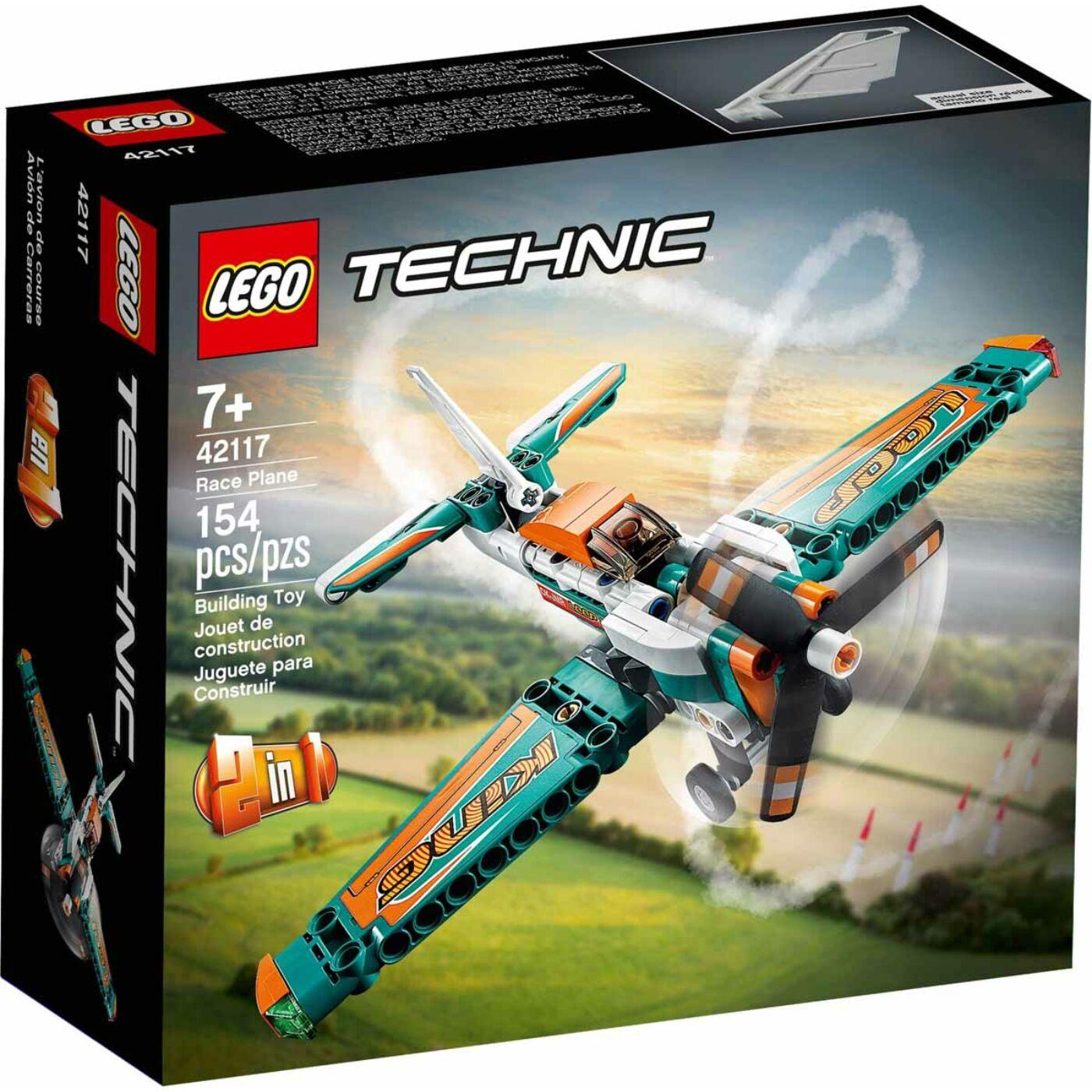 Lego Technic Versenyrepülőgép