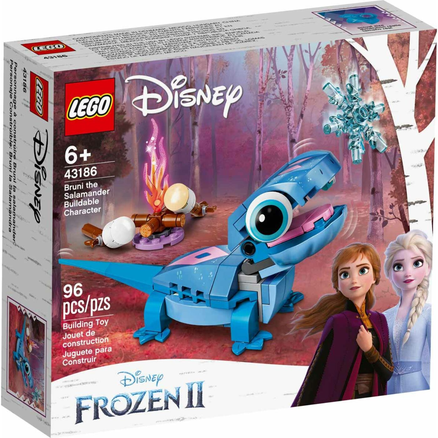 Lego Disney Princess Bruni, a szalamandra