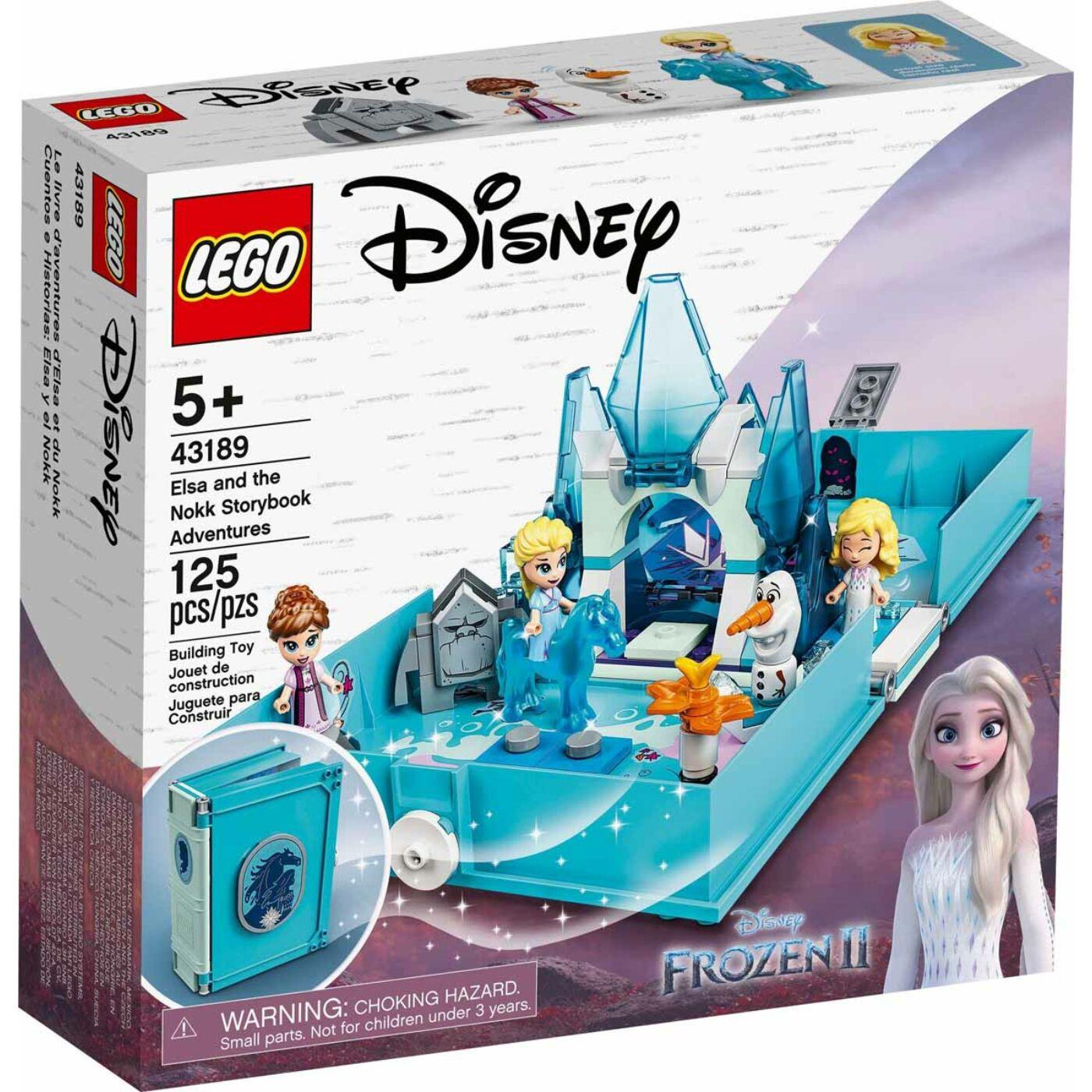 Lego Disney Princess Elza és Nokk mesekönyve