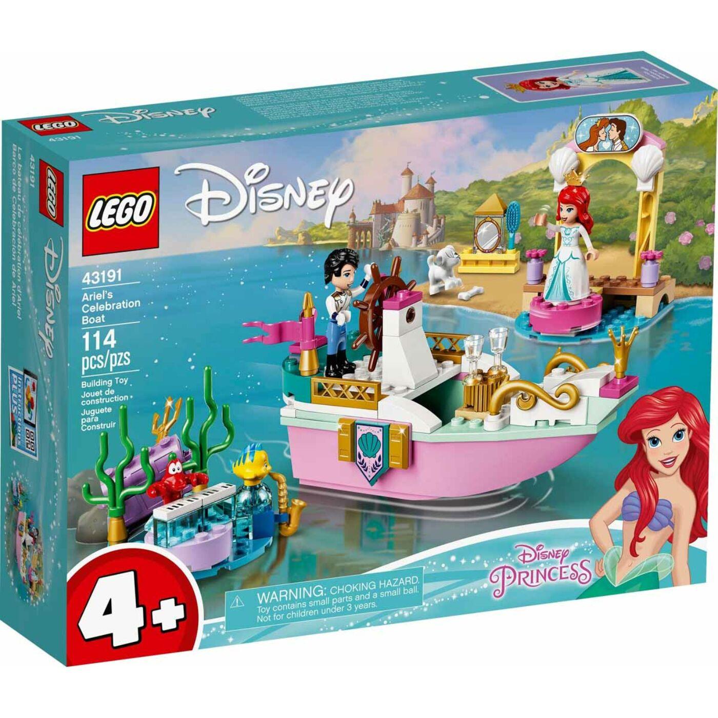Lego Disney Princess Ariel ünnepi hajója