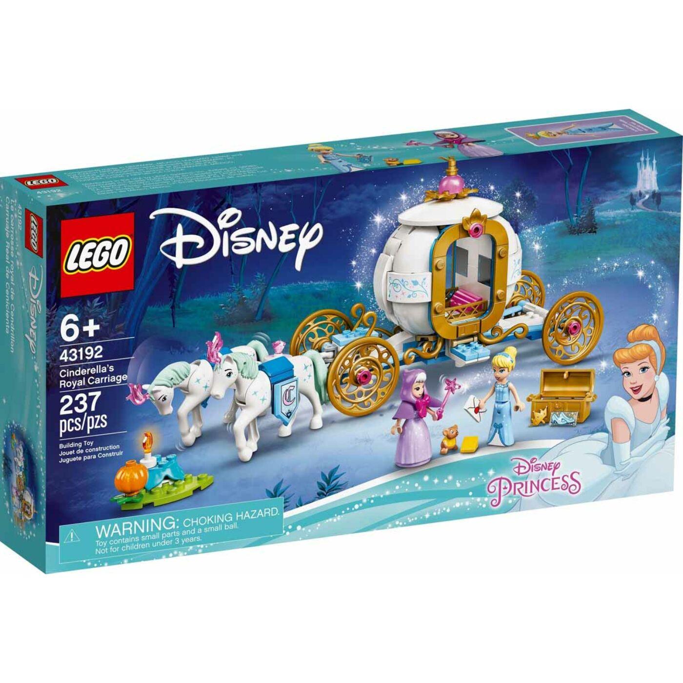 Lego Disney Princess Hamupipőke királyi hintója