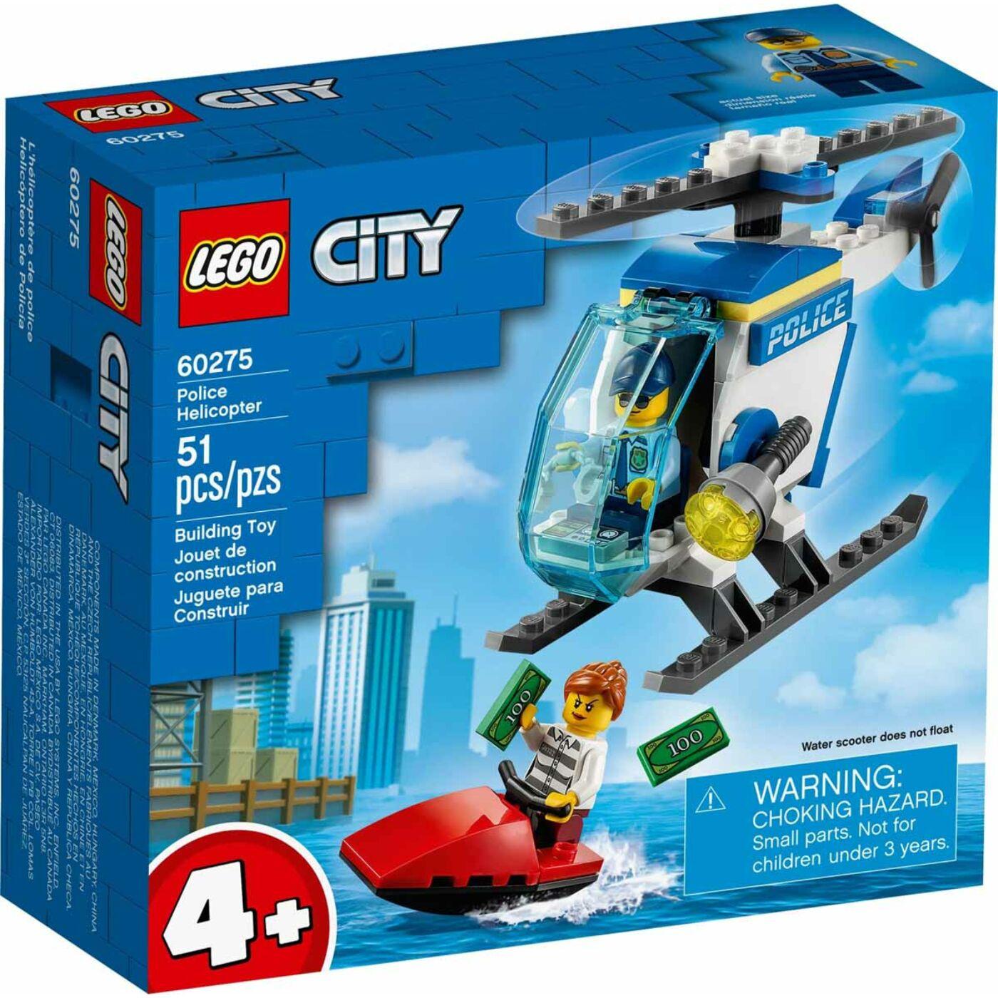 Lego City Rendőrségi helikopter