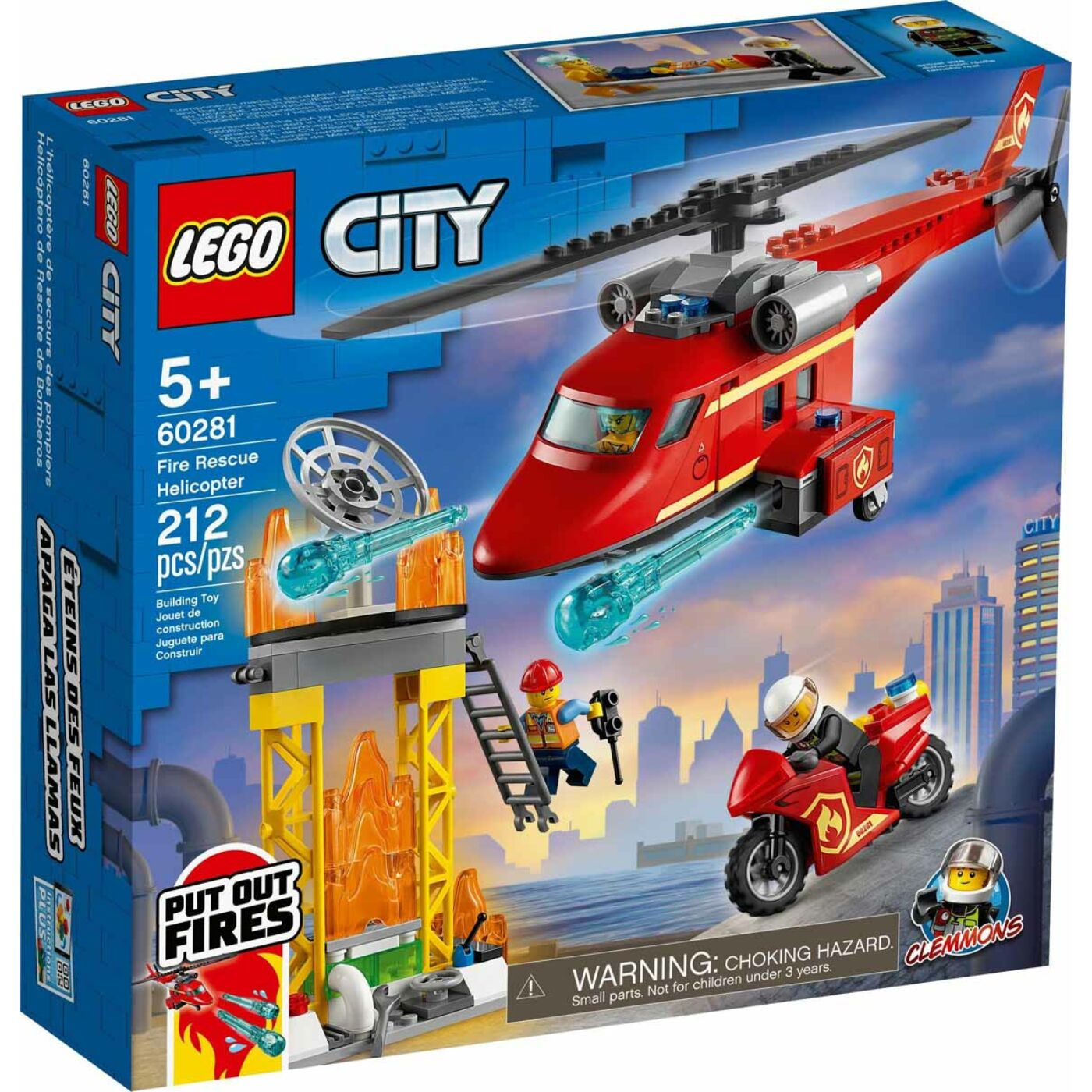 Lego City Tűzoltó mentőhelikopter