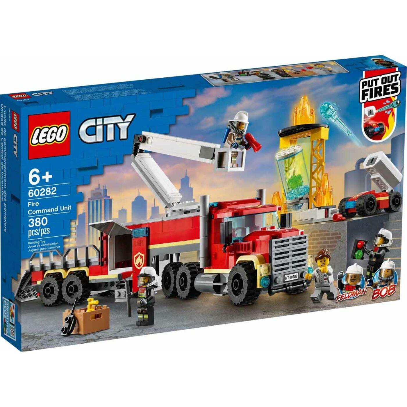 Lego City Tűzvédelmi egység