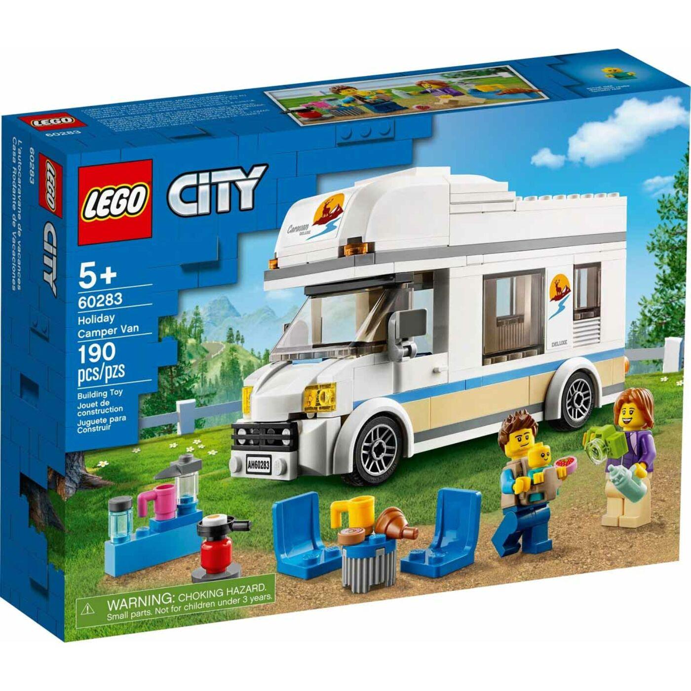 Lego City Lakóautó nyaraláshoz