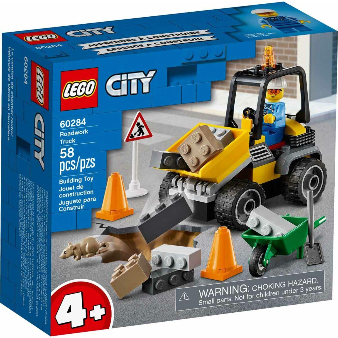 Lego City Útépítő autó