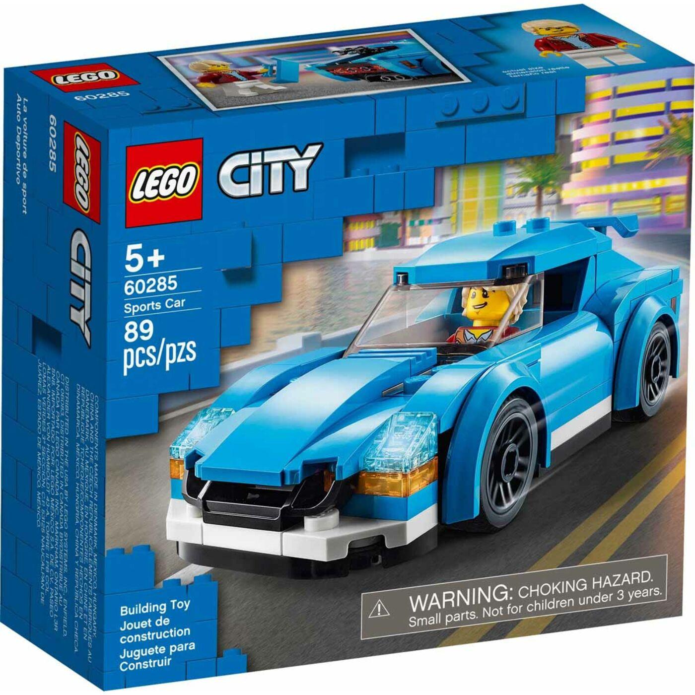 Lego City Sportautó