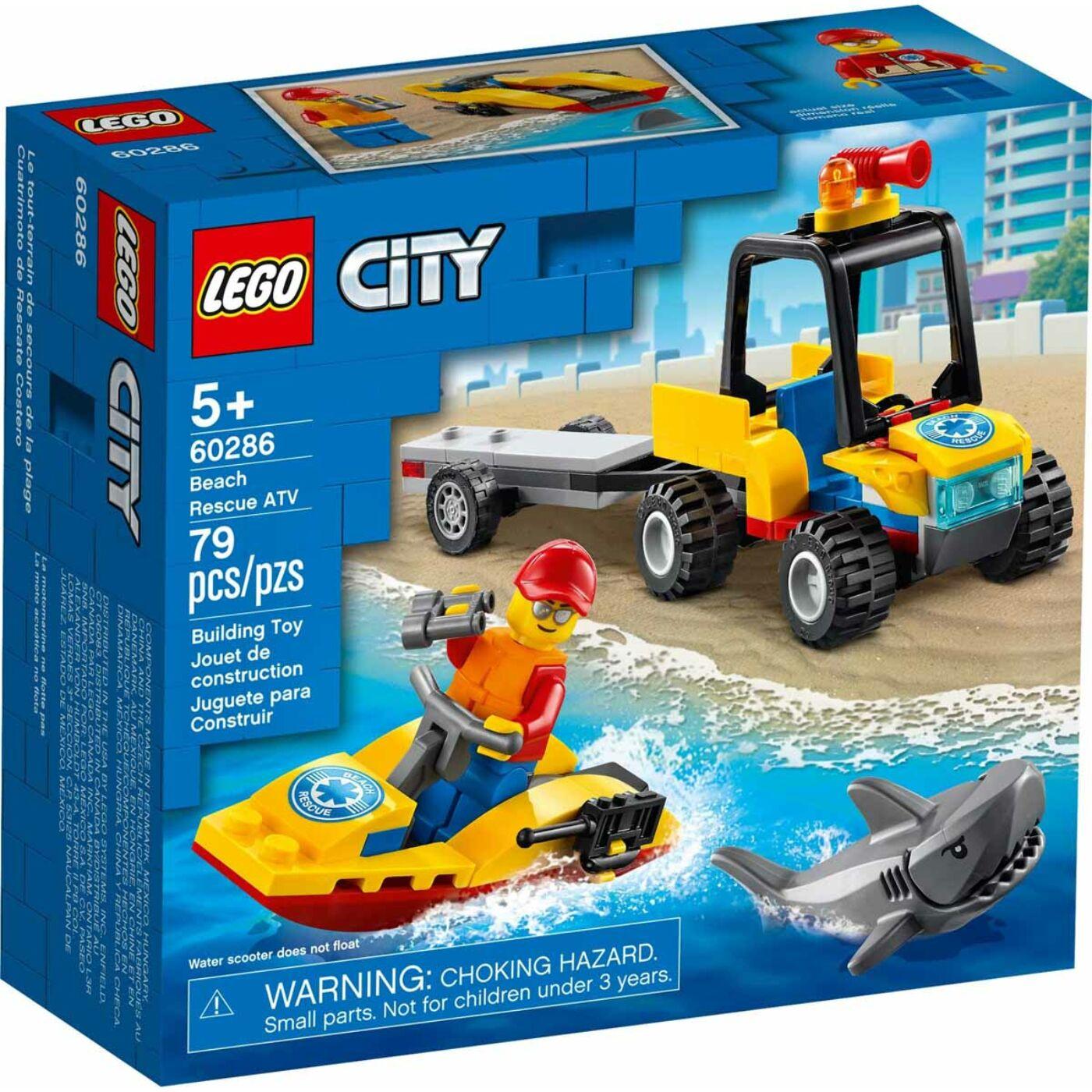 Lego City Tengerparti mentő ATV jármű