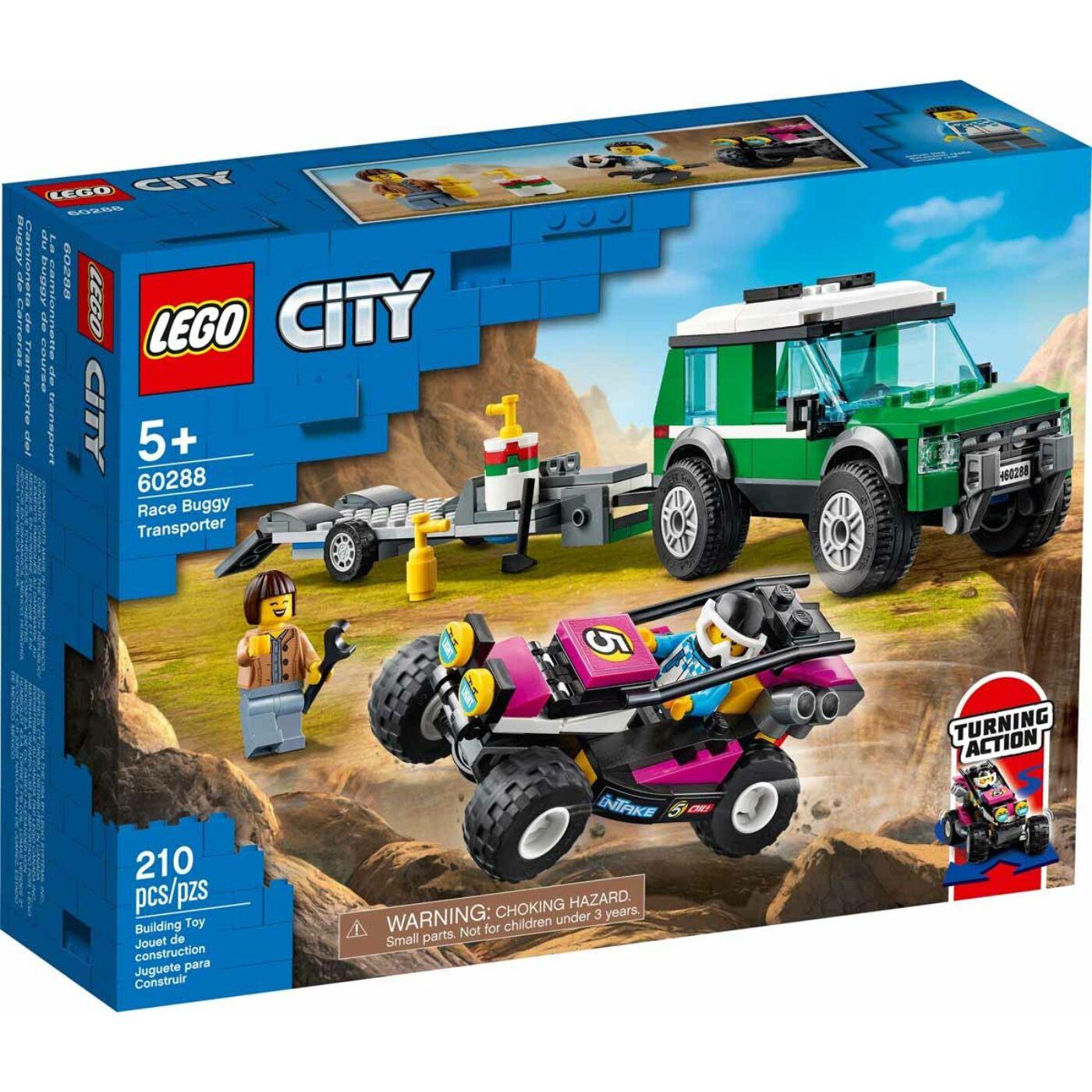 Lego City Verseny homokfutó szállítóautó