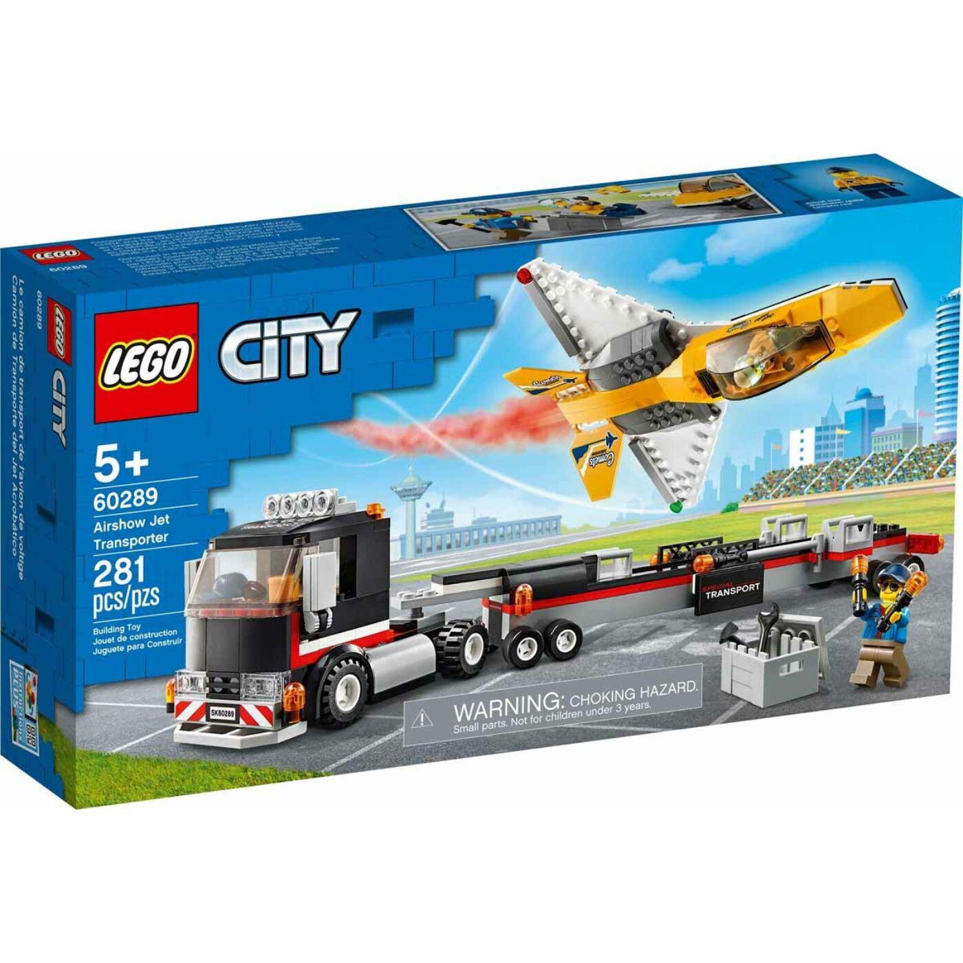 Lego City Műrepülő autószállító