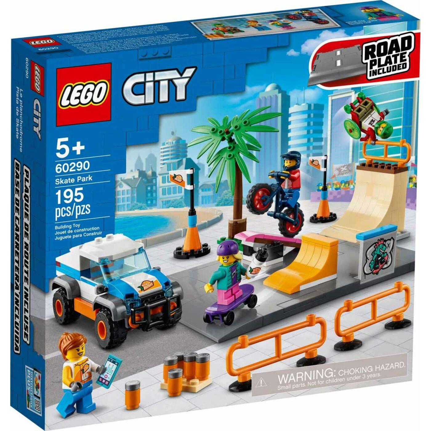 Lego City Gördeszkapark