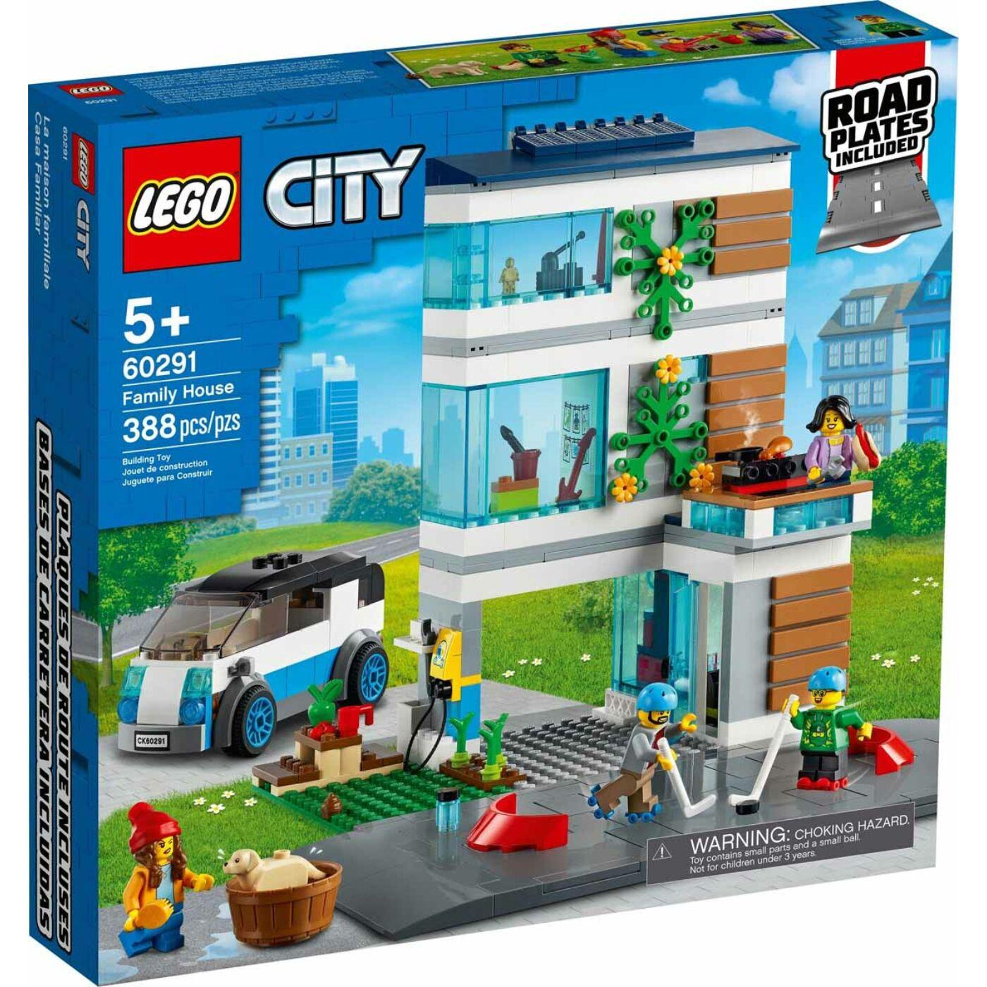 Lego City Családi ház