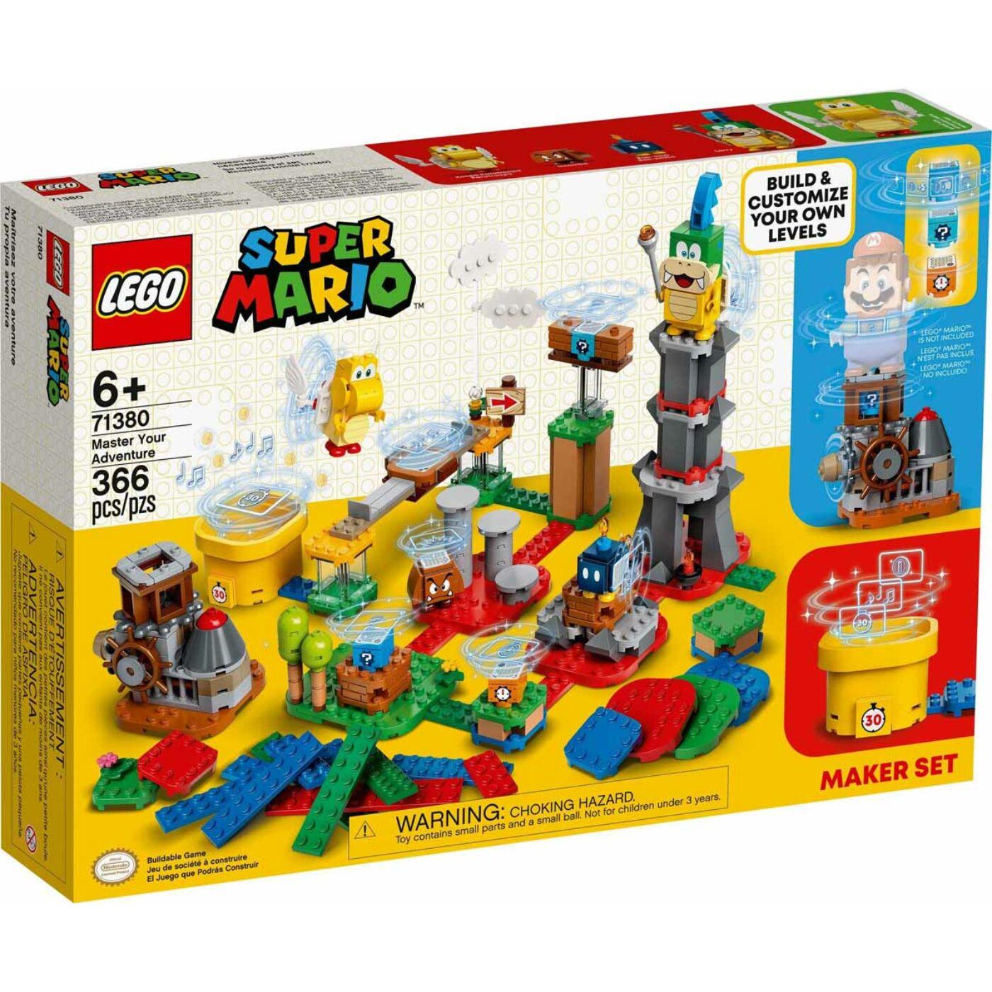 Lego Super Mario Kalandmester készítő