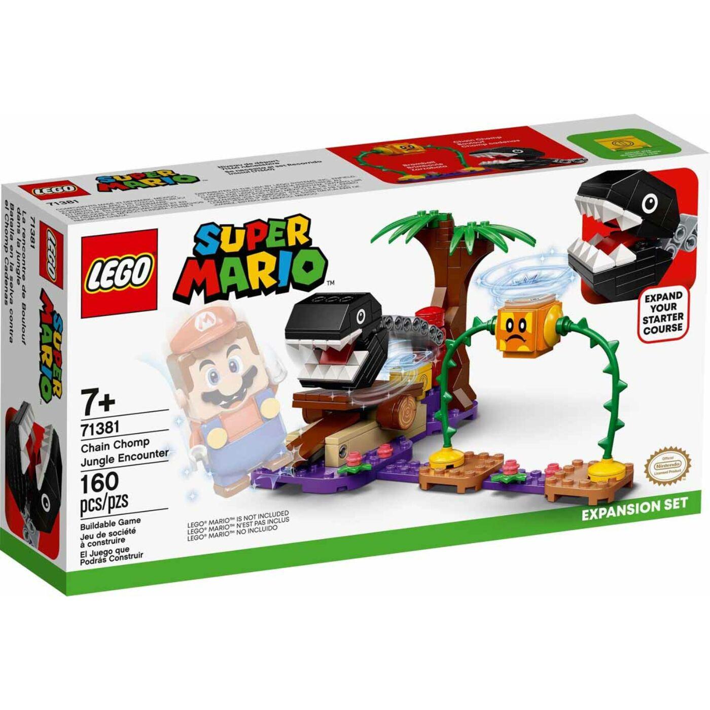 Lego Super Mario Chain Chomp Találkozás a dzsungelben