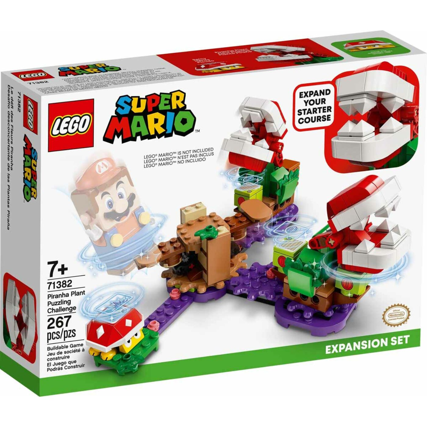 Lego Super Mario A Piranha növény rejtélyes feladata