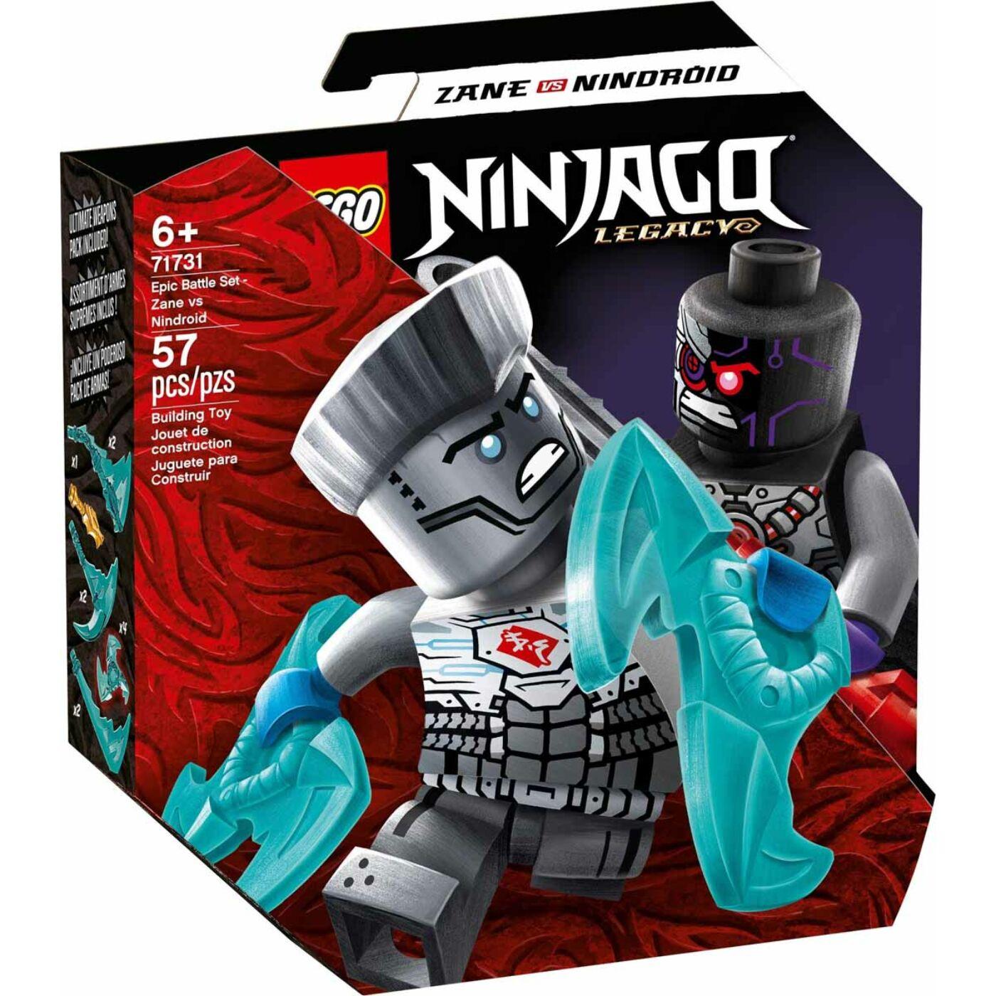 Lego Ninjago Hősi harci készlet Zane vs Nindroid