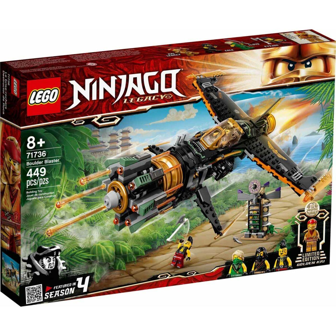 Lego Ninjago Sziklaromboló