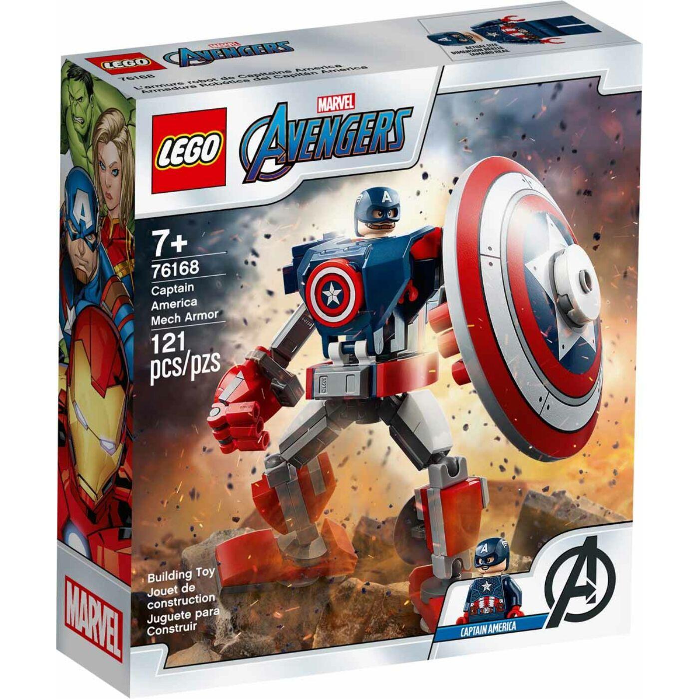 Lego Super Heroes Amerika kapitány páncélozott robotja