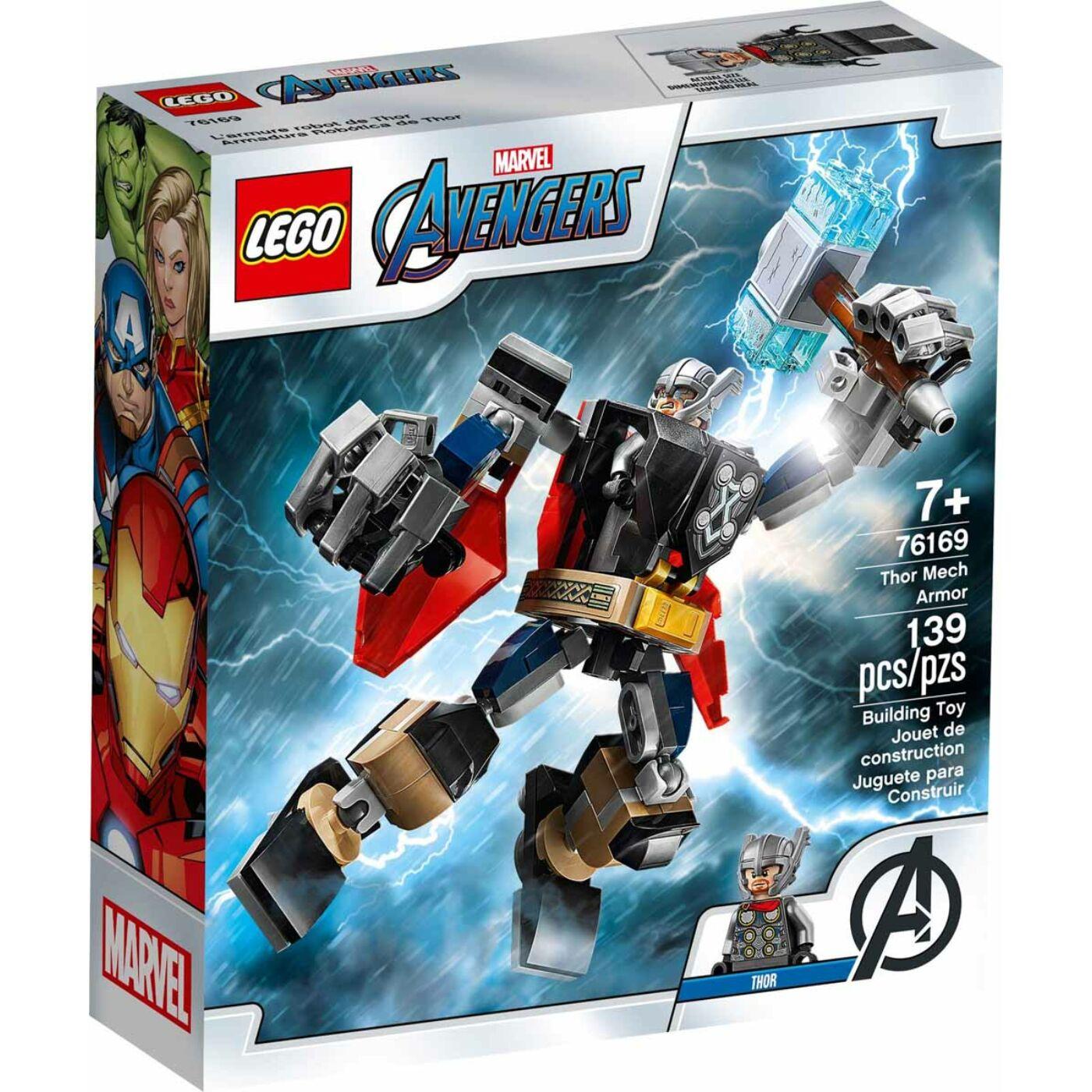 Lego Super Heroes Thor páncélozott robotja