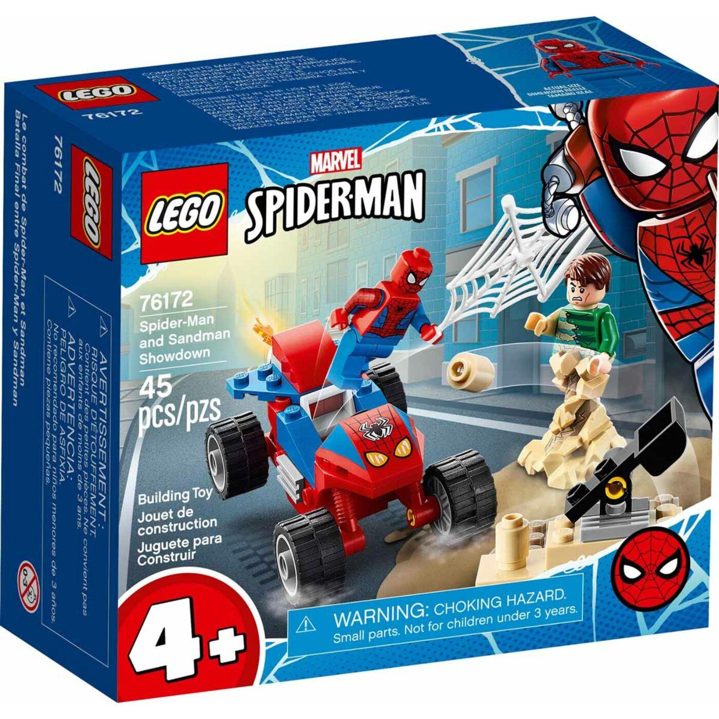 Lego Super Heroes Pókember és Sandman leszámolása