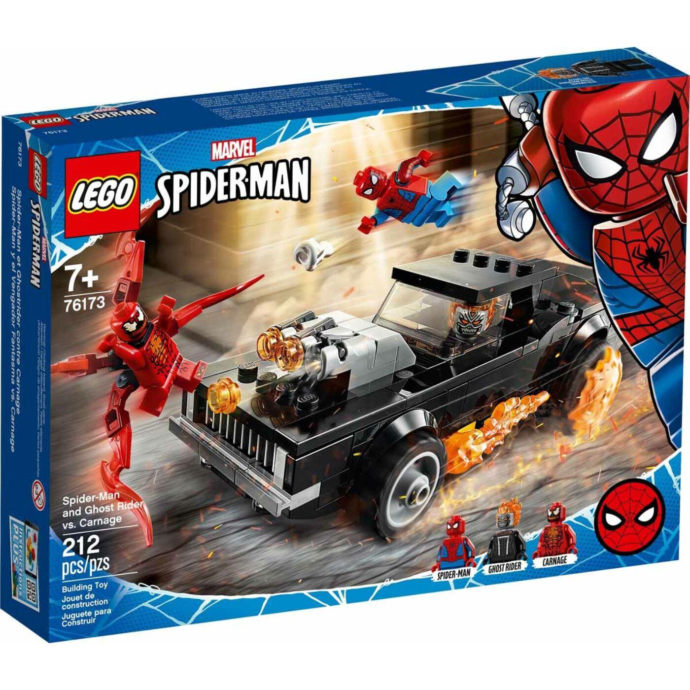 Lego Super Heroes Pókember és Szellemlovas vs Carnage