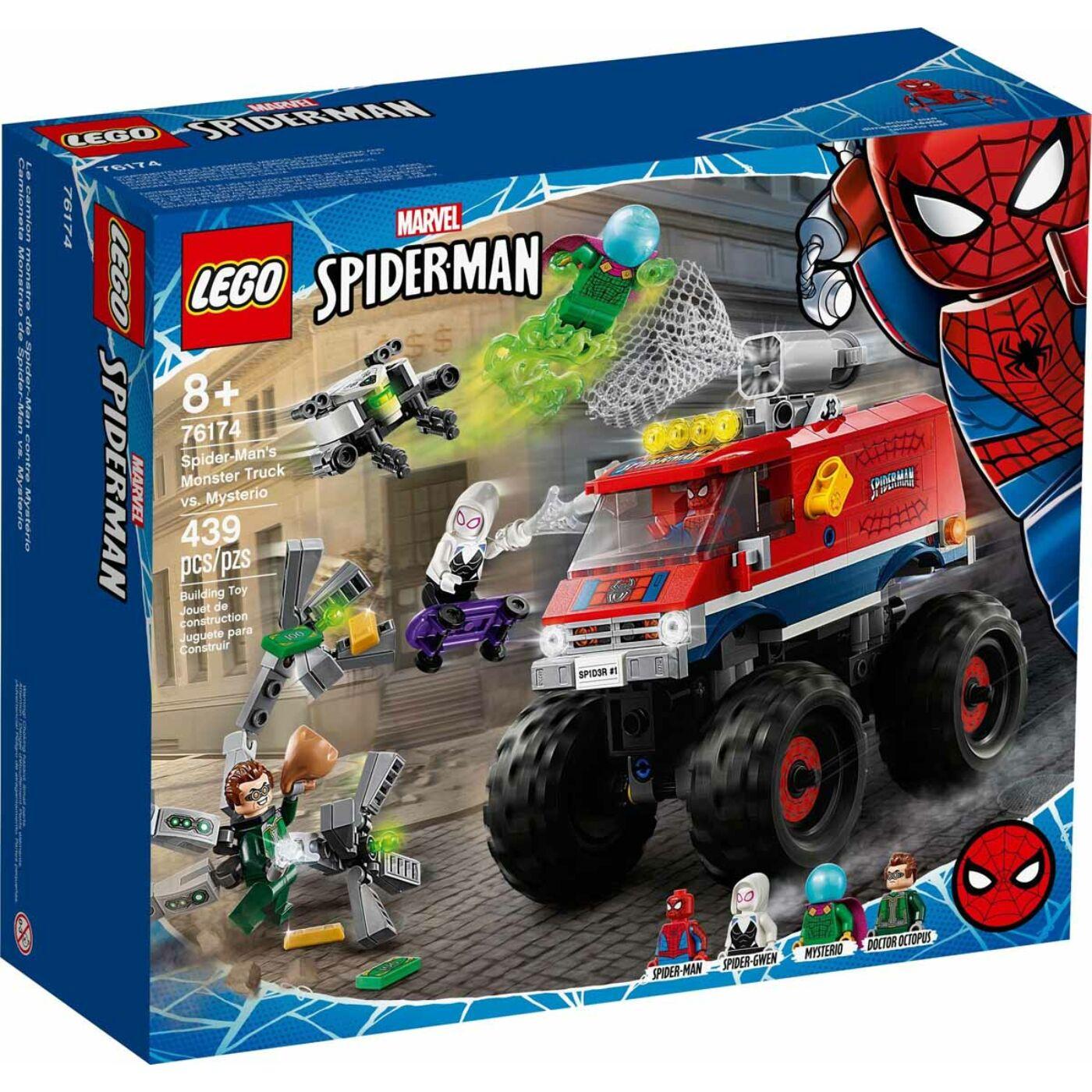 Lego Super Heroes Pókember Monster truckja vs Mysterio