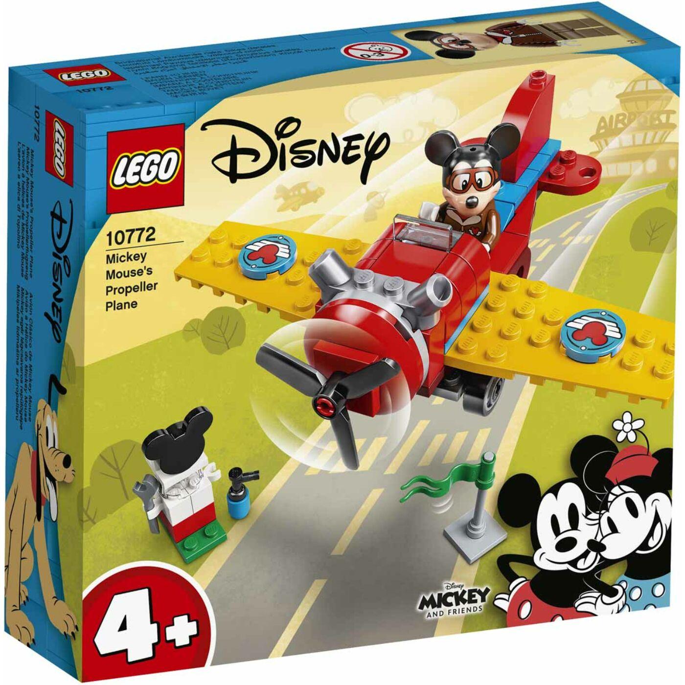 Lego Disney Mickey légcsavaros repülőgépe