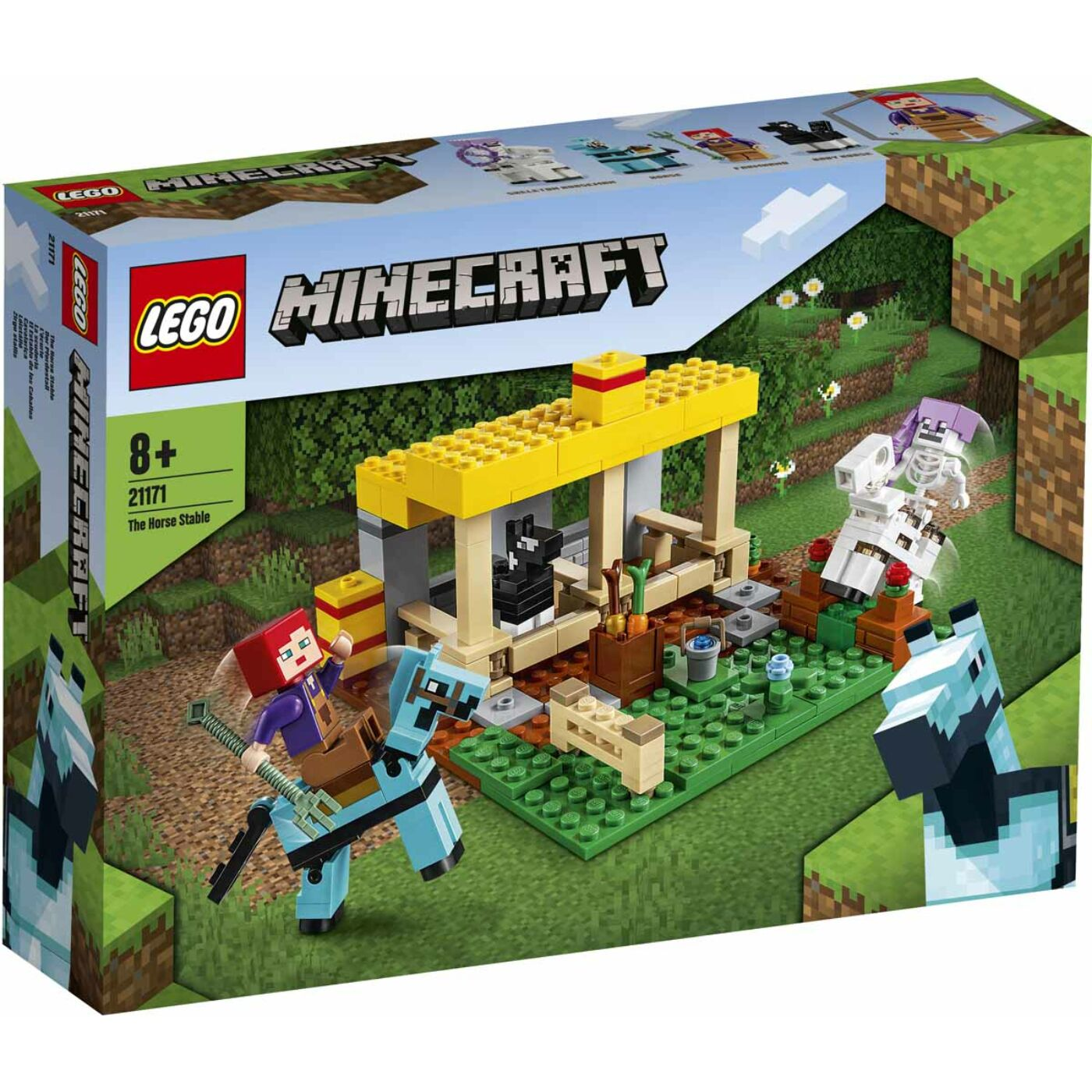 Lego Minecraft Lóistálló