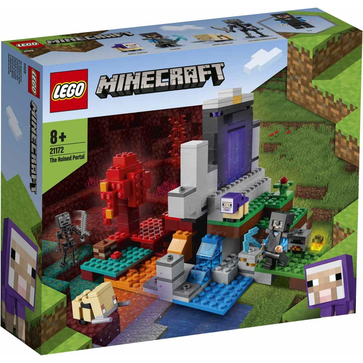 Lego Minecraft A romos portál
