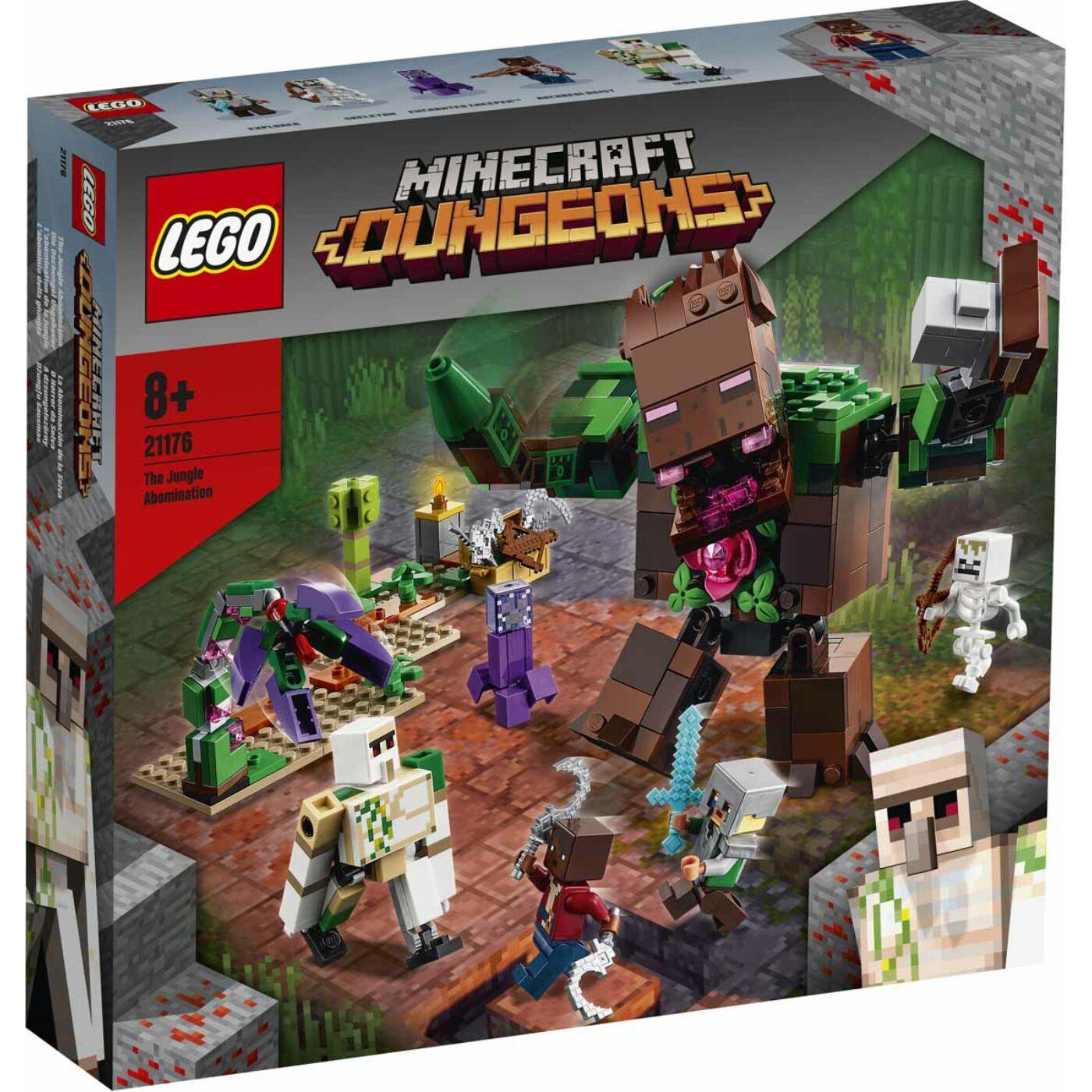Lego Minecraft A dzsungelszörny