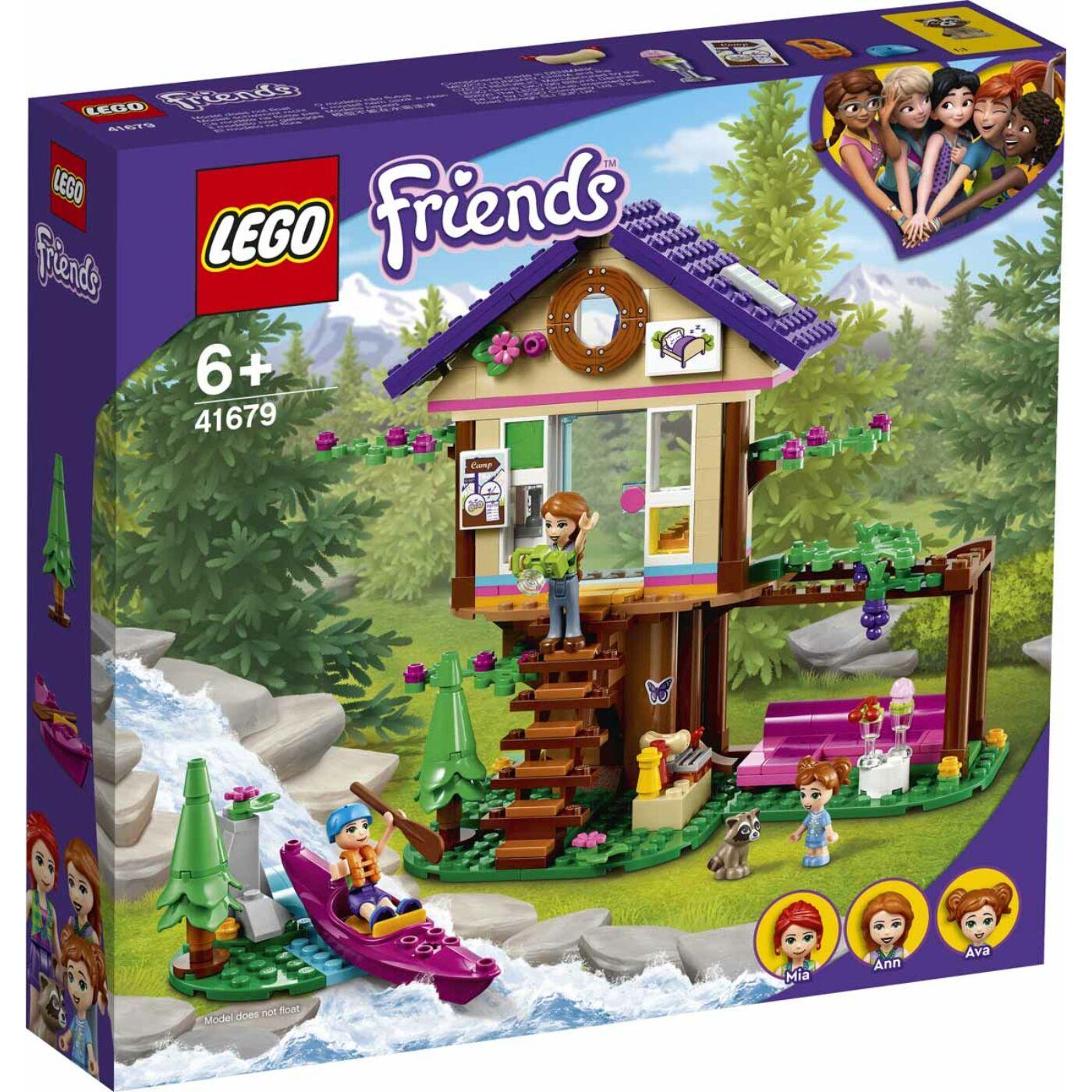 Lego Friends Erdei házikó