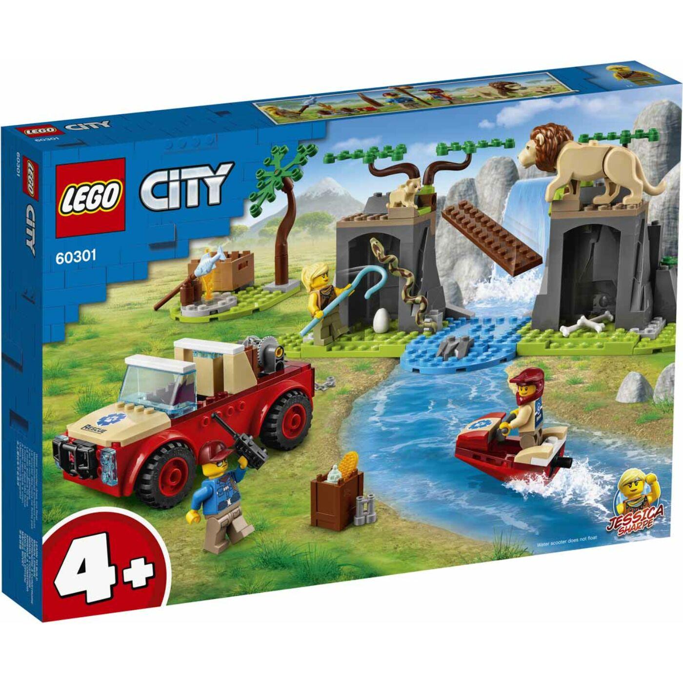 Lego City Vadvilági mentő terepjáró