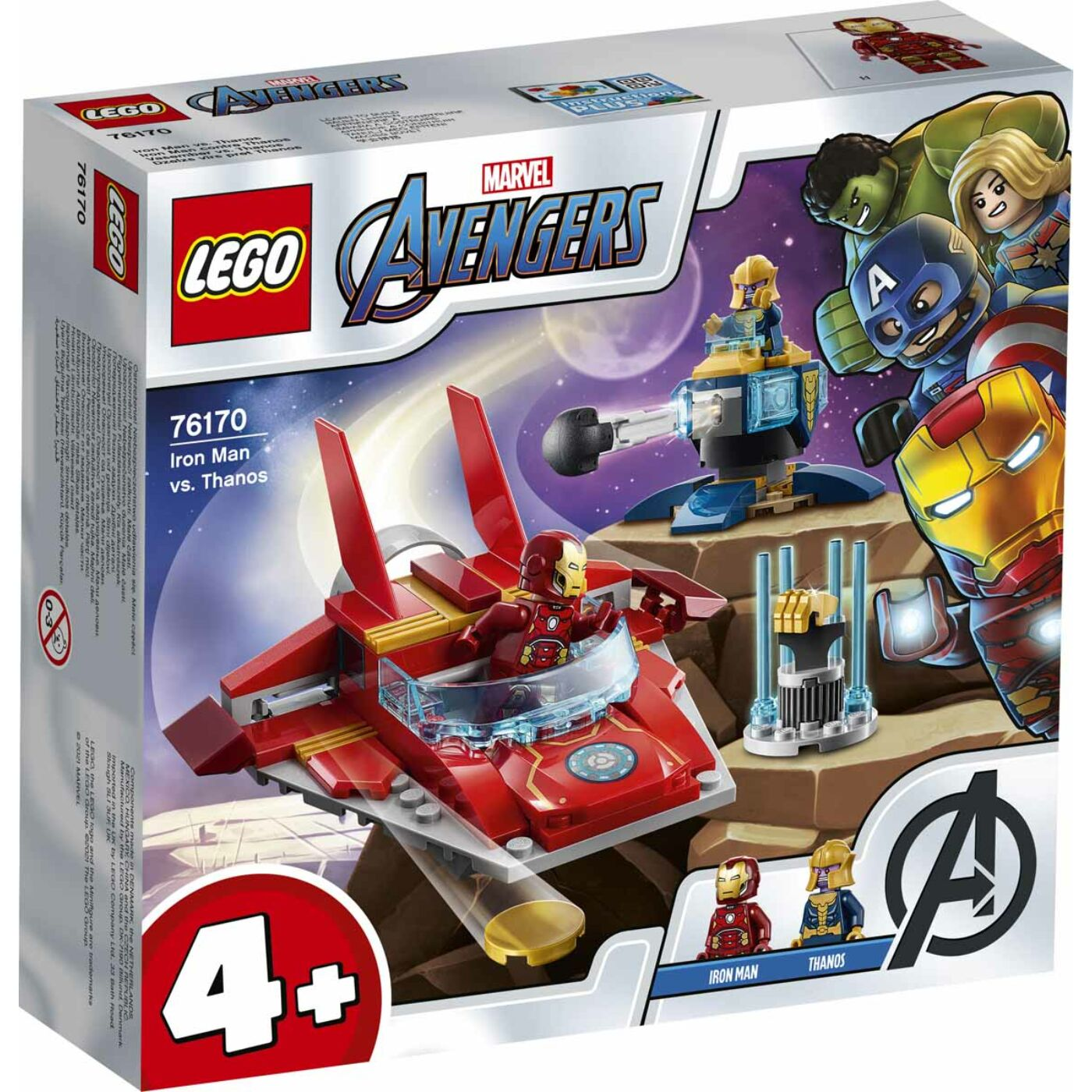 Lego Super Heroes Vasember vs Thanos