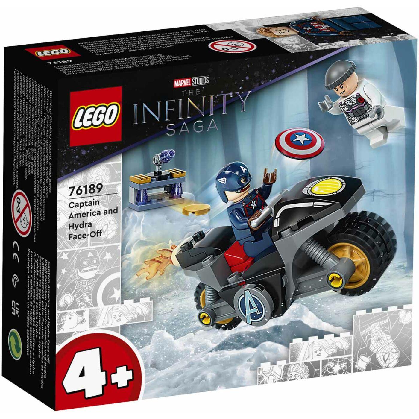 Lego Super Heroes Amerika kapitány és Hydra szemtől szembe