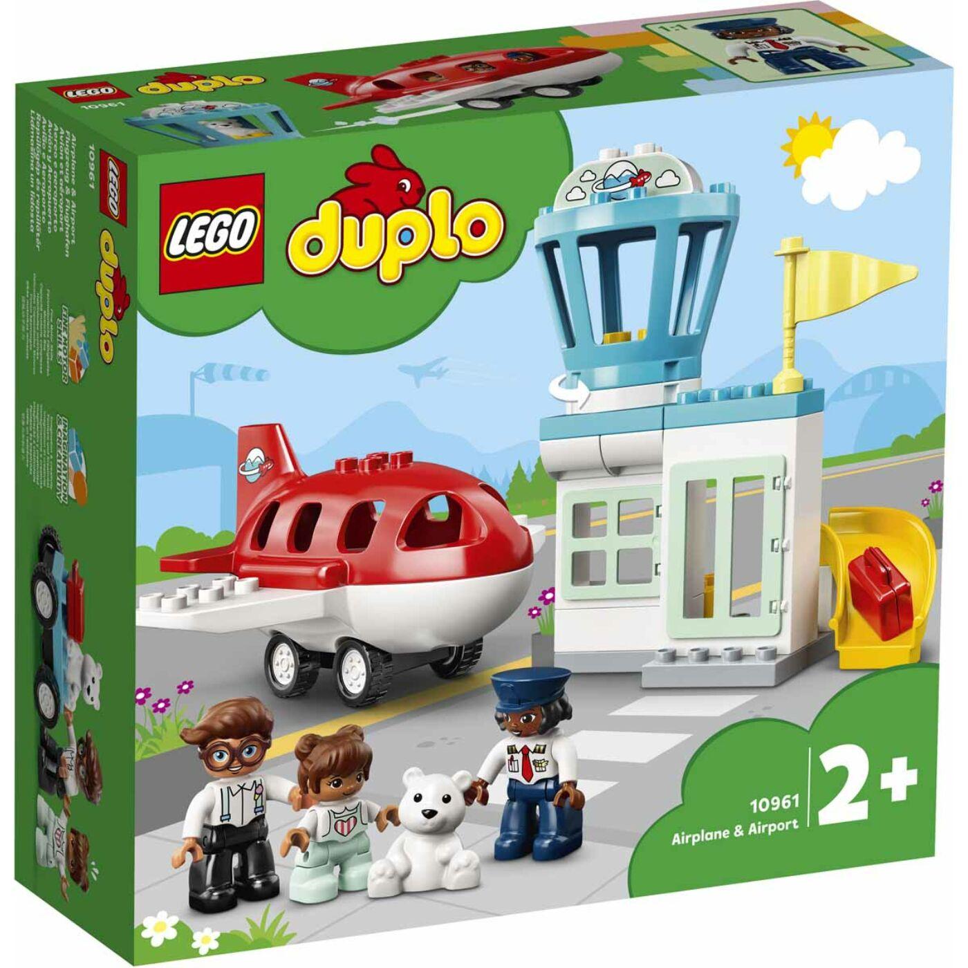Lego Duplo Repülőgép és repülőtér
