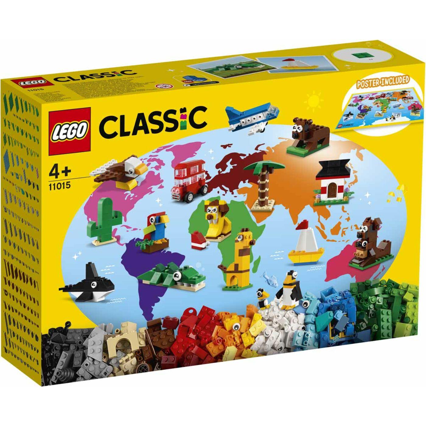 Lego Classic A világ körül