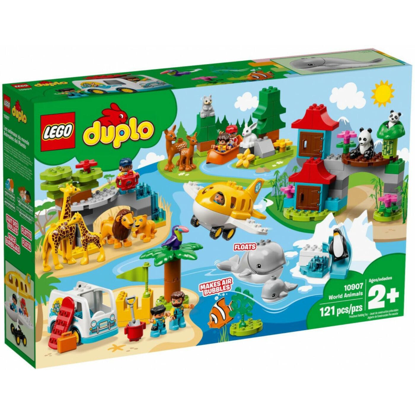 Lego Duplo A világ állatai