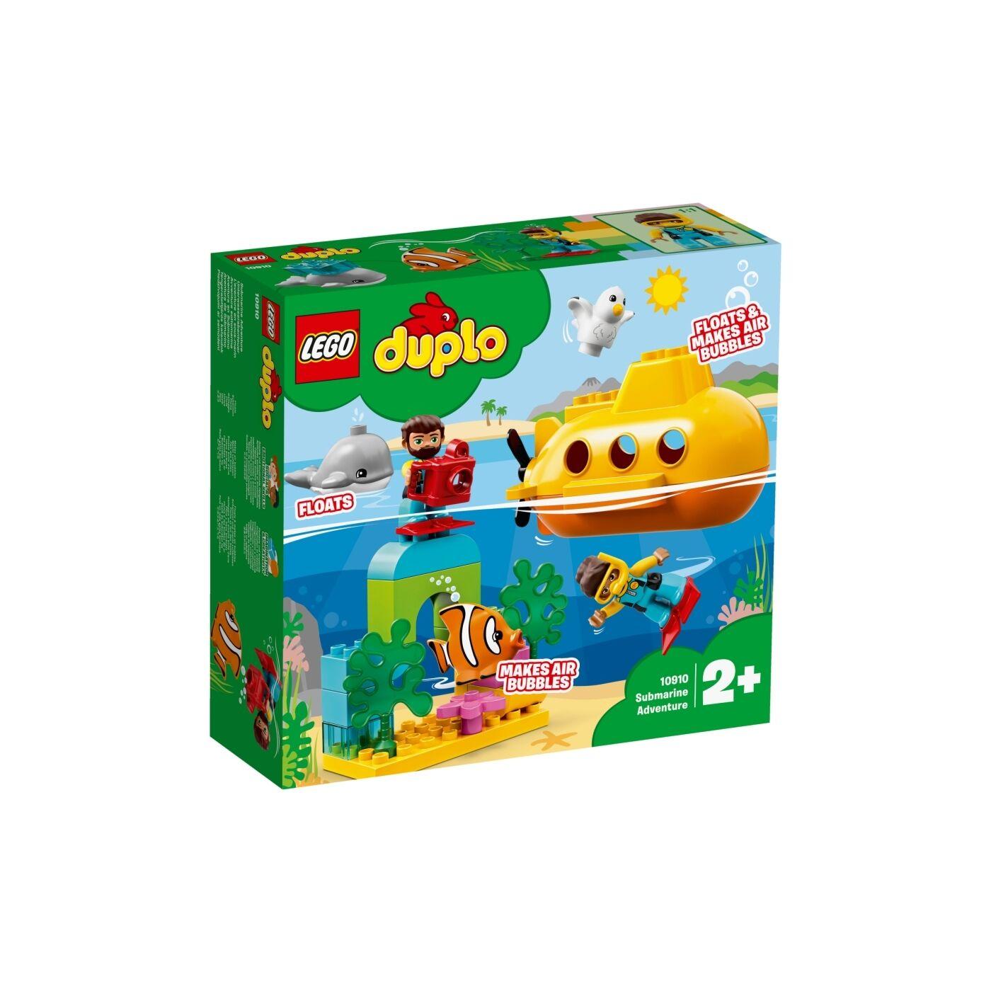 Lego Duplo Tengeralattjárós kalandok