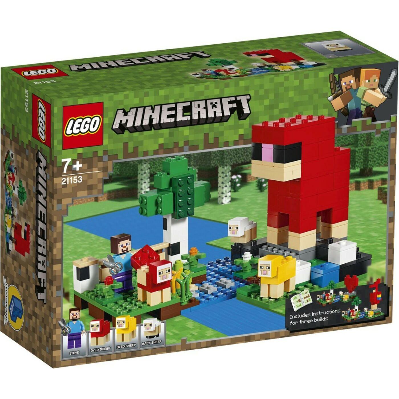 Lego Minecraft A gyapjúfarm