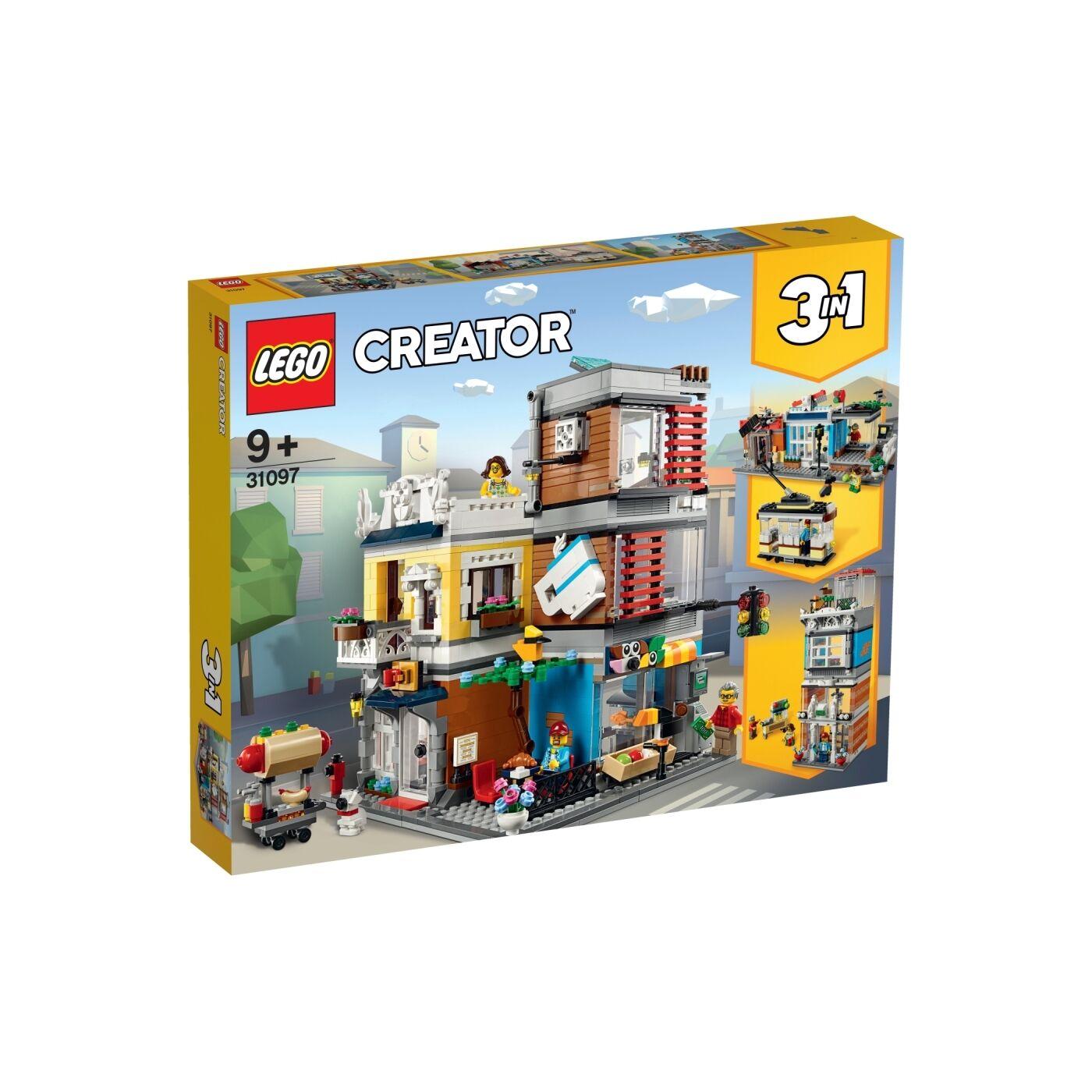 Lego Creator Városi kisállat kereskedés és kávézó