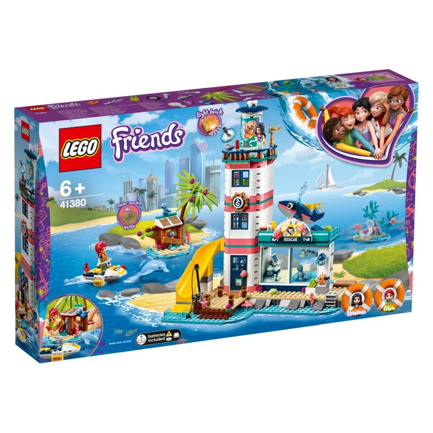 Lego Friends Világítótorony mentőközpont