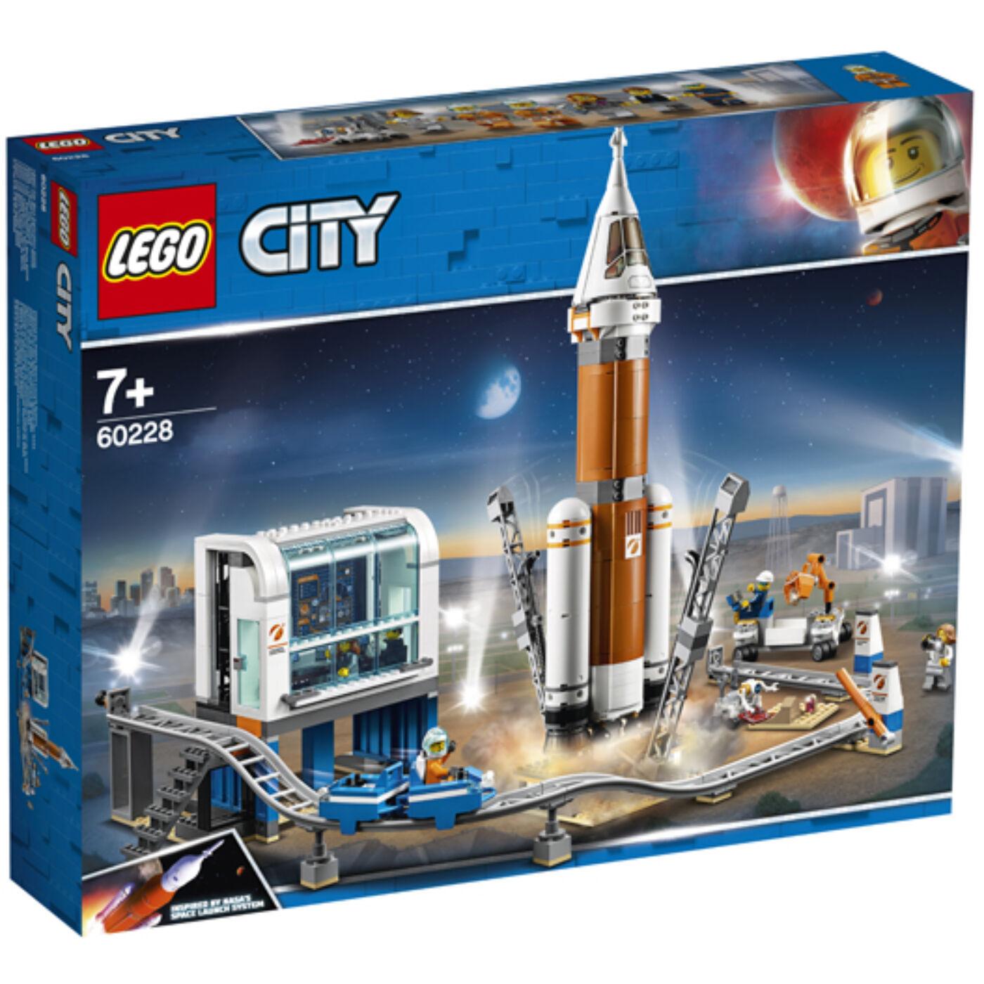 Lego City Űrrakéta és irányítóközpont