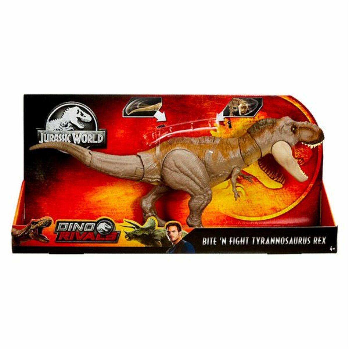 Támadó T-rex