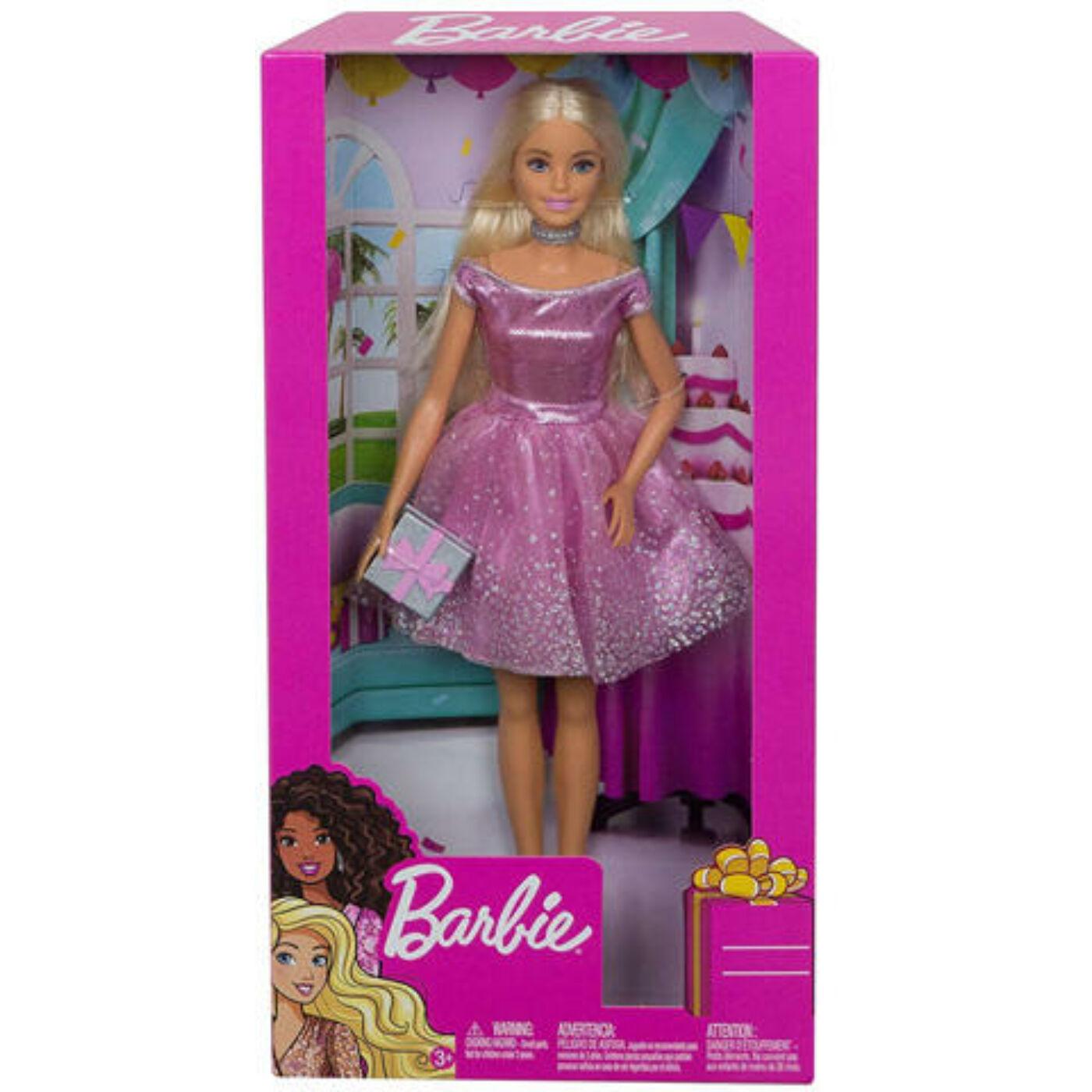 Boldog Születésnapot Barbie baba