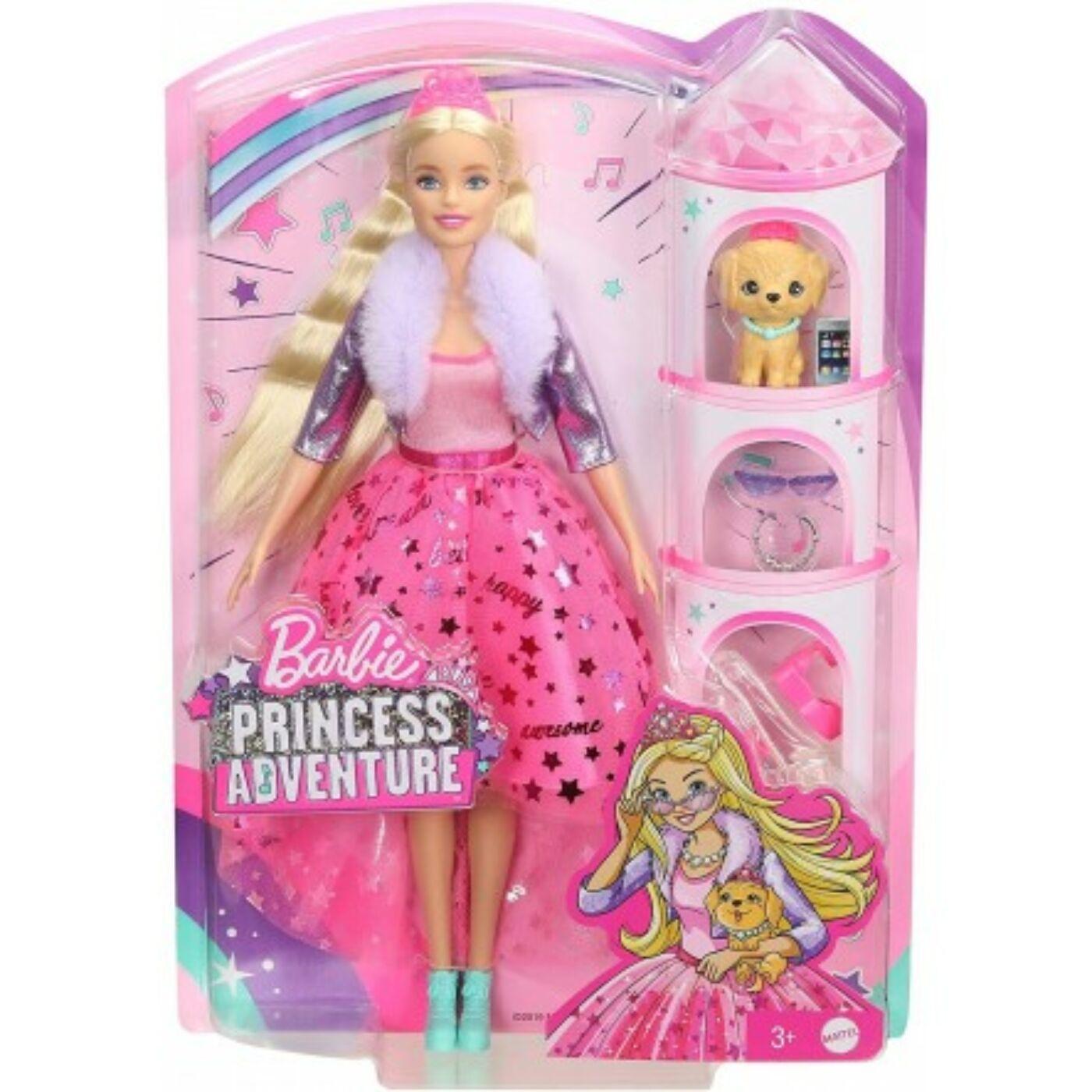 Barbie Princess Adventure - Deluxe hercegnők